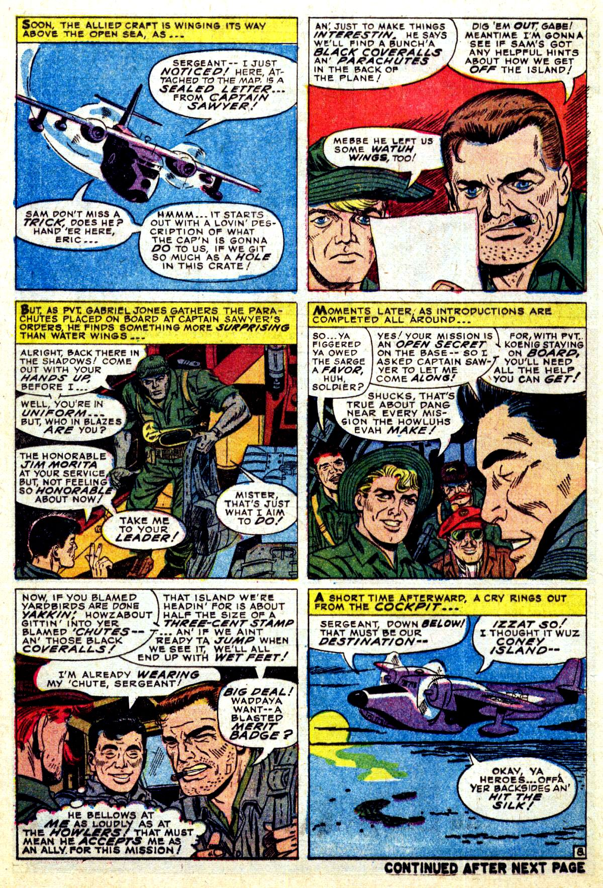 Read online Sgt. Fury comic -  Issue #38 - 12