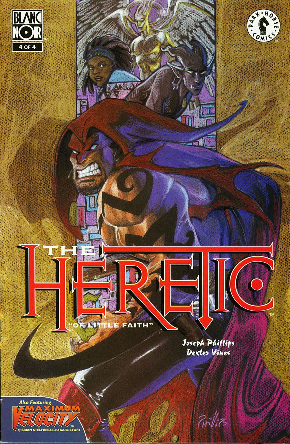 The Heretic issue 4 - Page 1