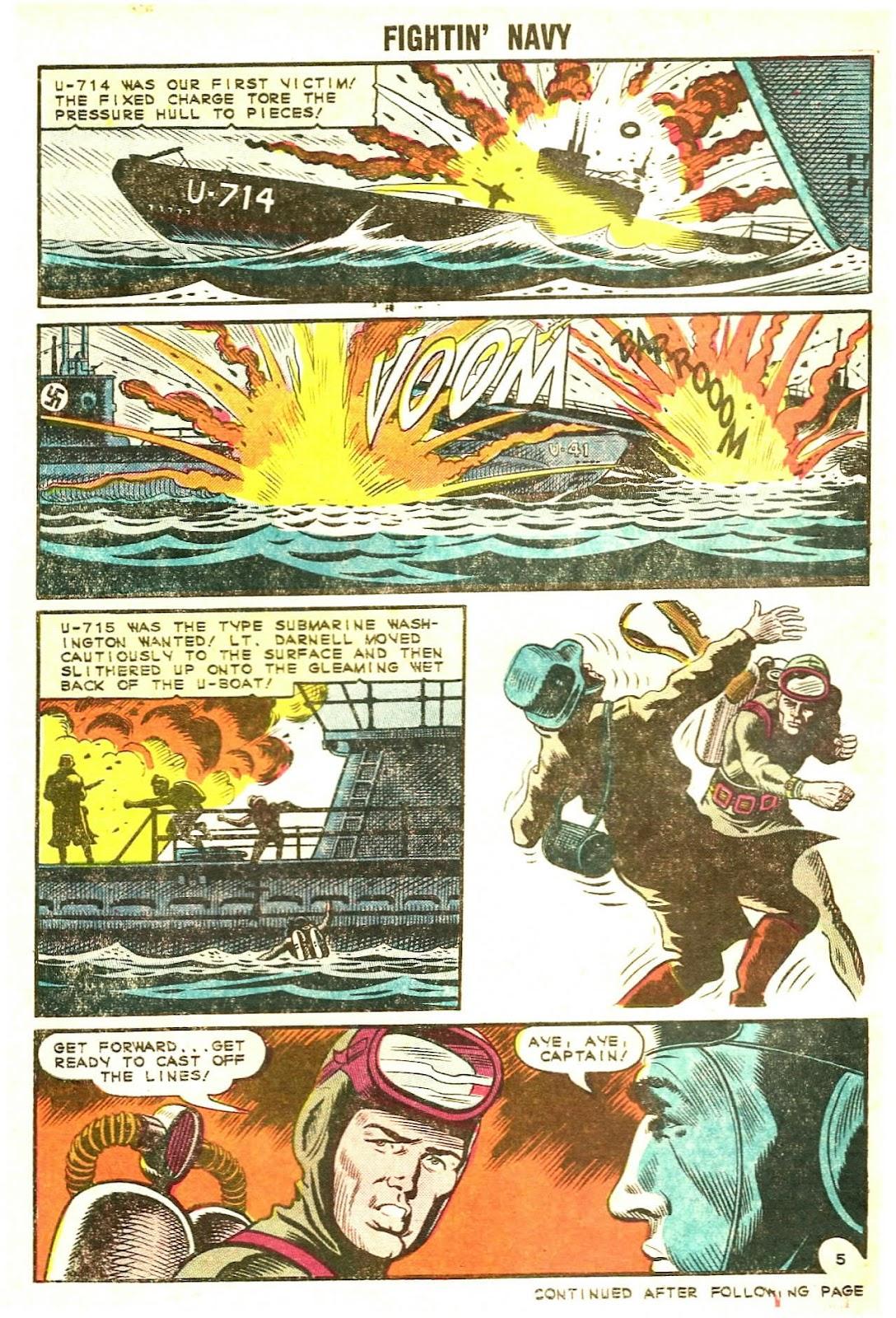 Read online Fightin' Navy comic -  Issue #120 - 30