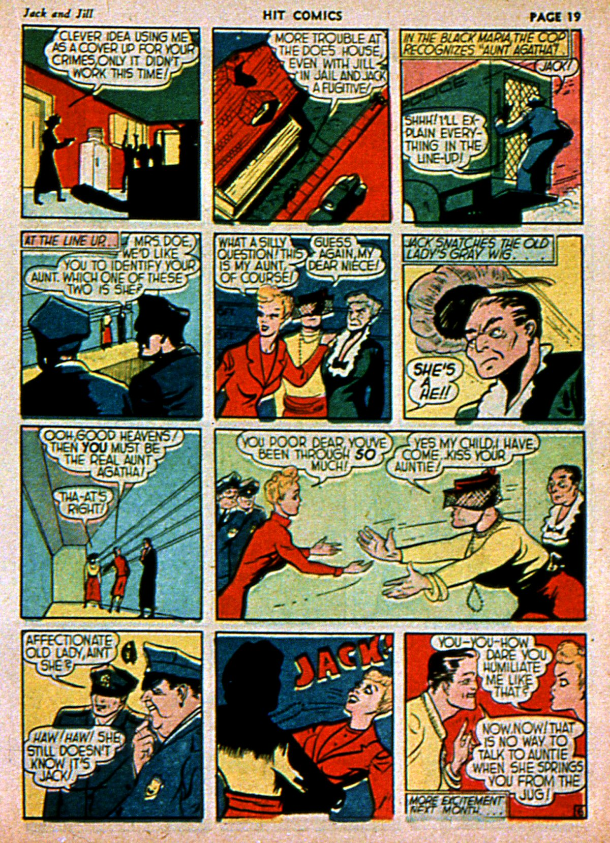 Read online Hit Comics comic -  Issue #3 - 21