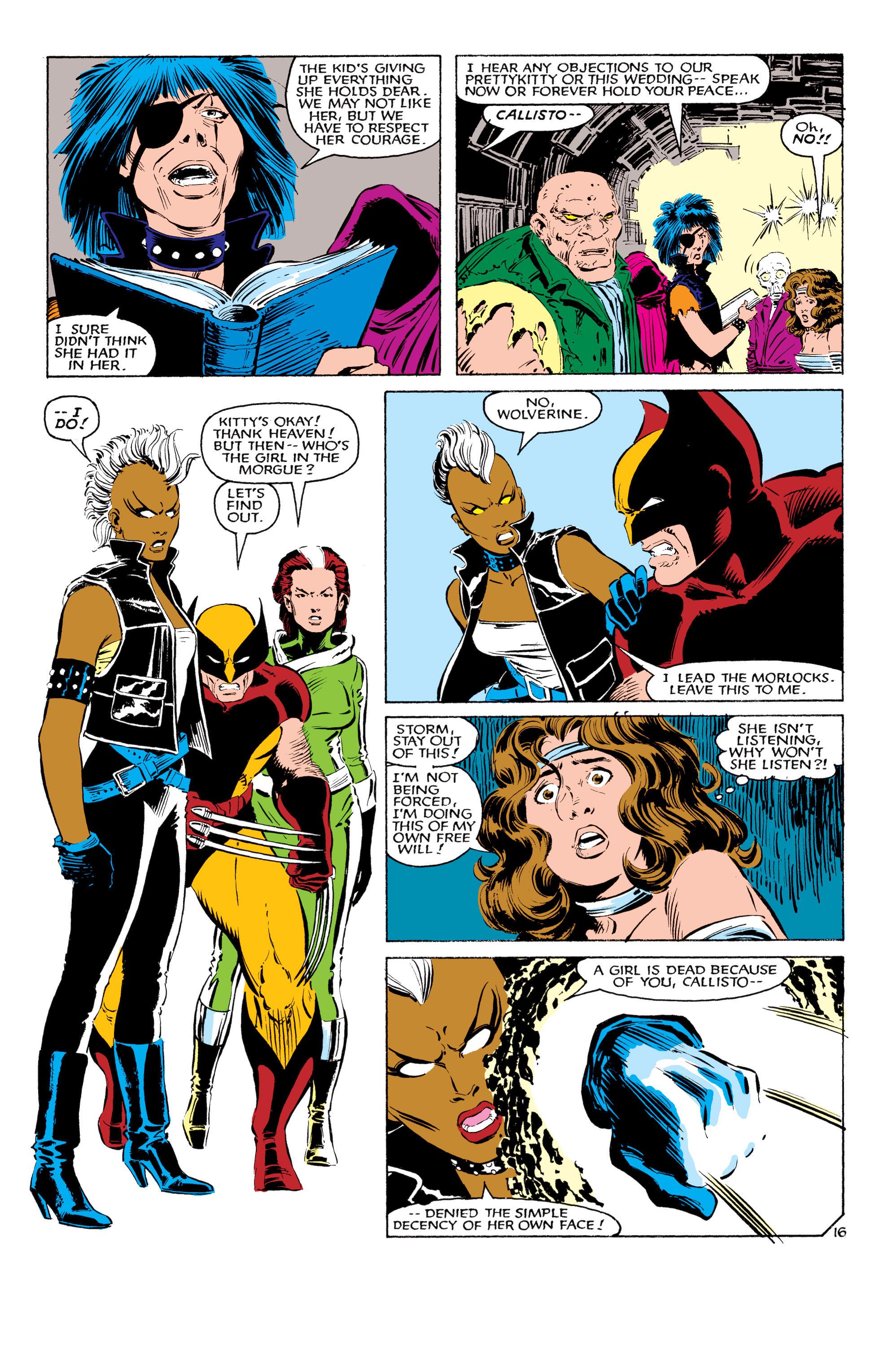 Read online Uncanny X-Men (1963) comic -  Issue #179 - 17