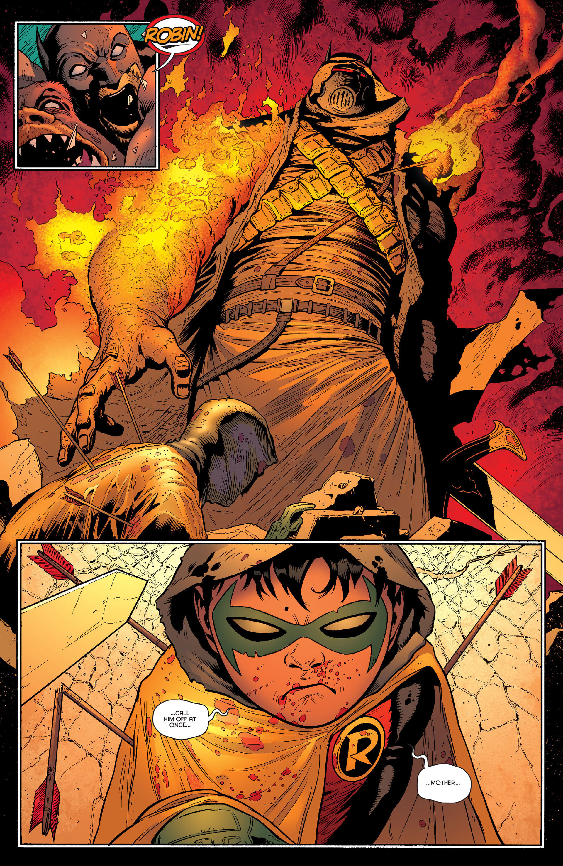 Read online Batman and Robin (2011) comic -  Issue #23 - Batman and Nightwing - 6