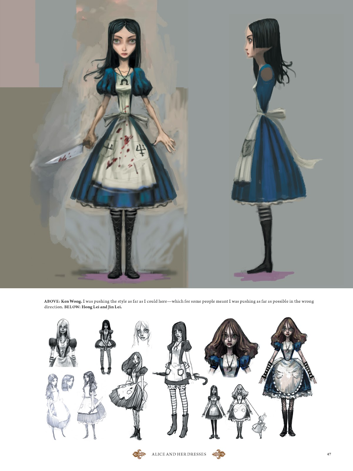 Read online The Art of Alice: Madness Returns comic -  Issue # TPB (Part 1) - 44