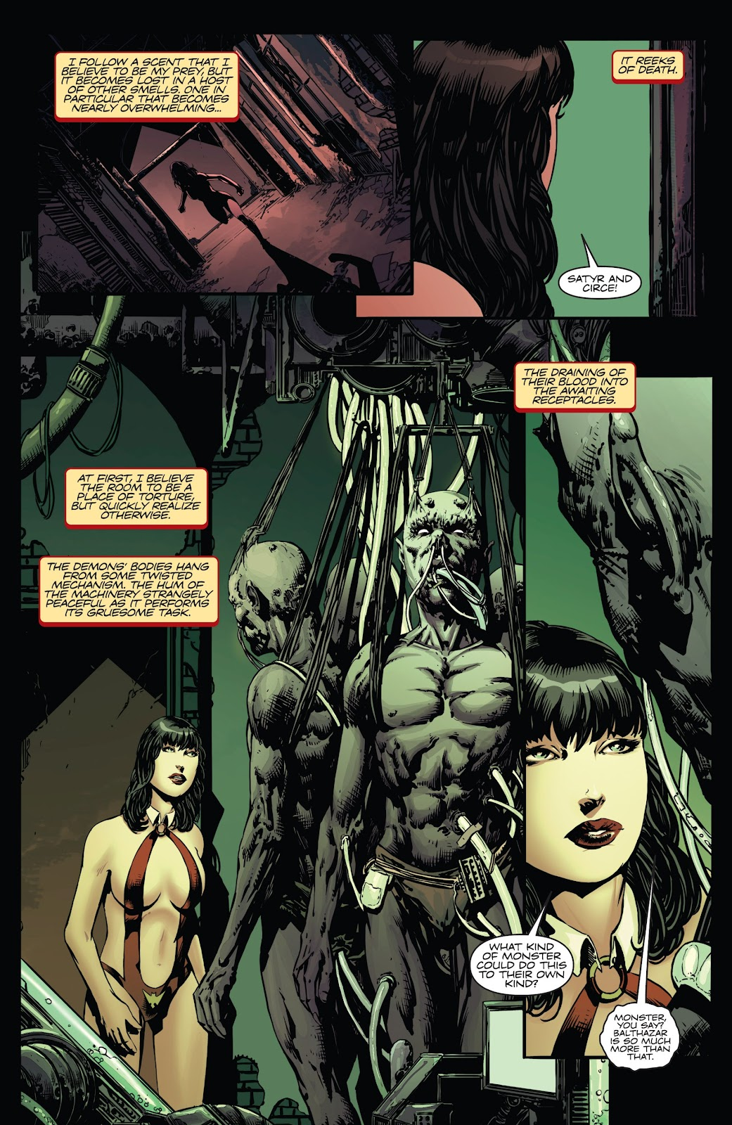 Read online Vampirella Strikes comic -  Issue #6 - 7