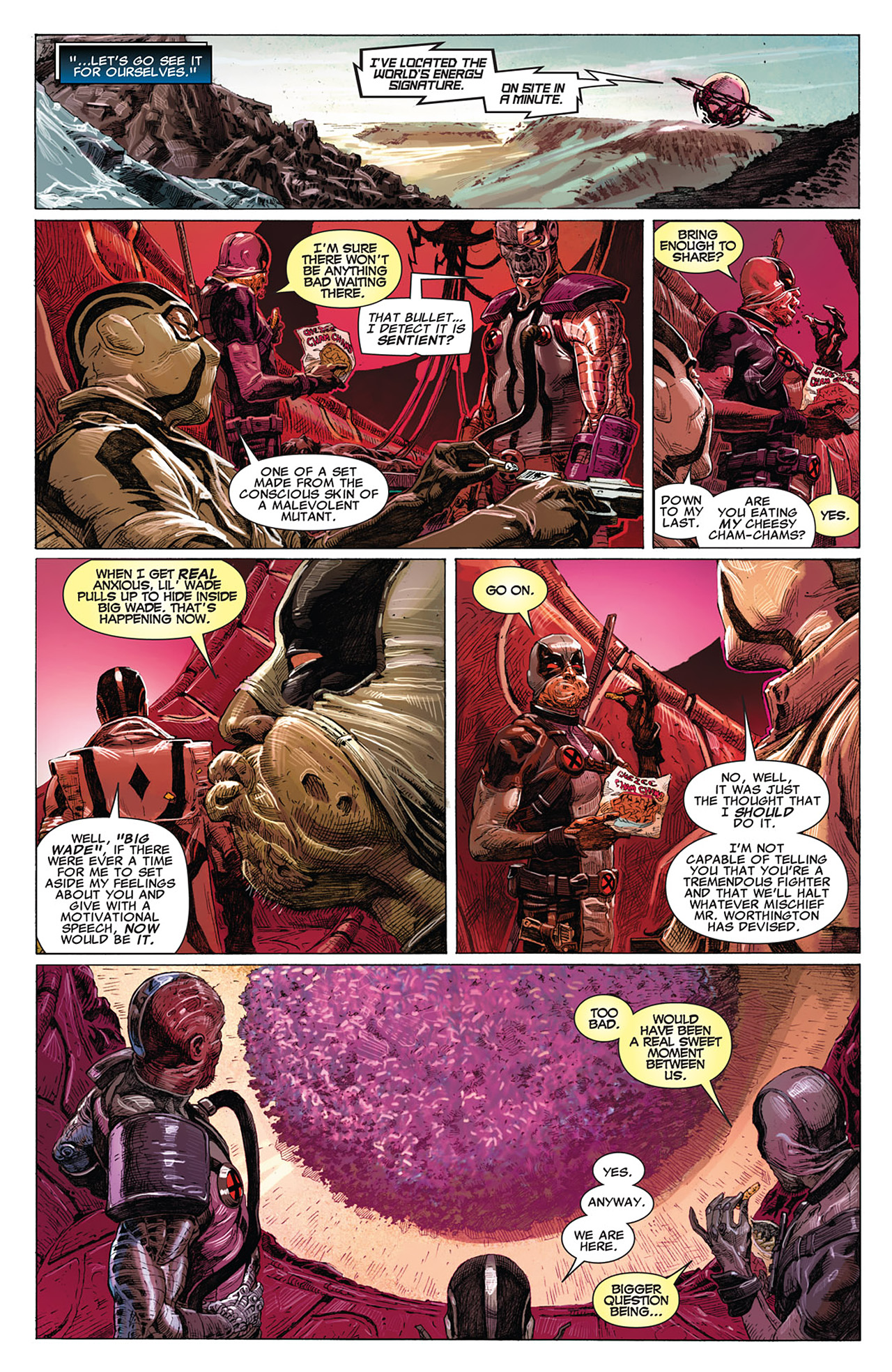Read online Uncanny X-Force (2010) comic -  Issue #15 - 11