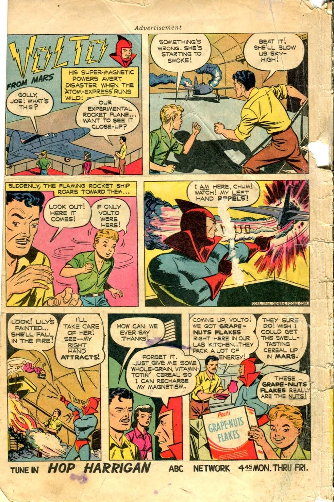 Read online Super-Magician Comics comic -  Issue #48 - 52