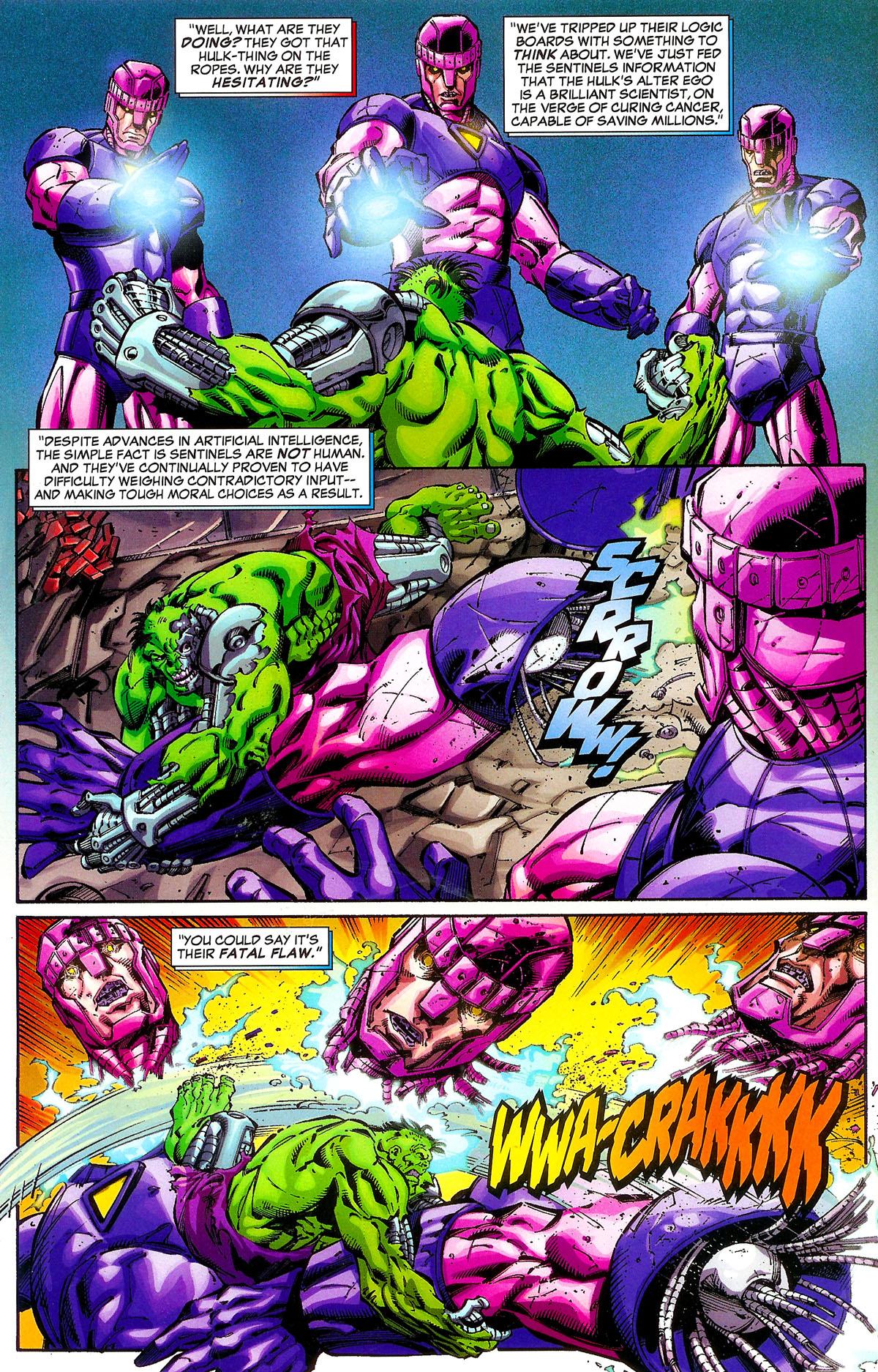 Read online Sentinel Squad O*N*E comic -  Issue #1 - 5