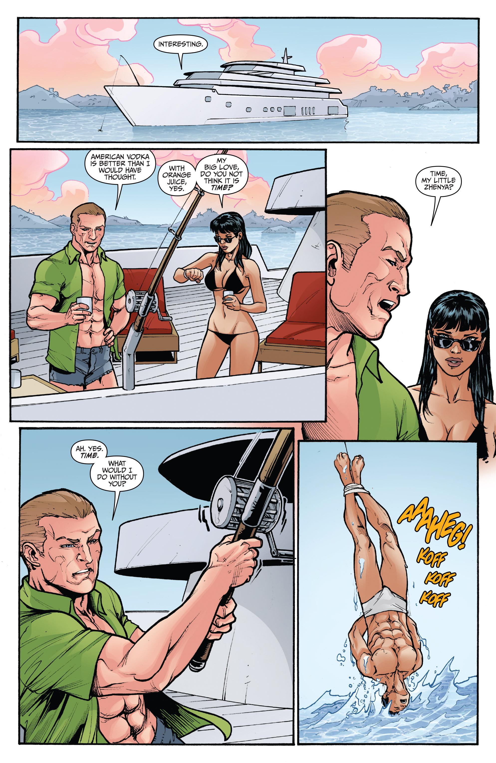 Read online 3 Guns comic -  Issue #4 - 12