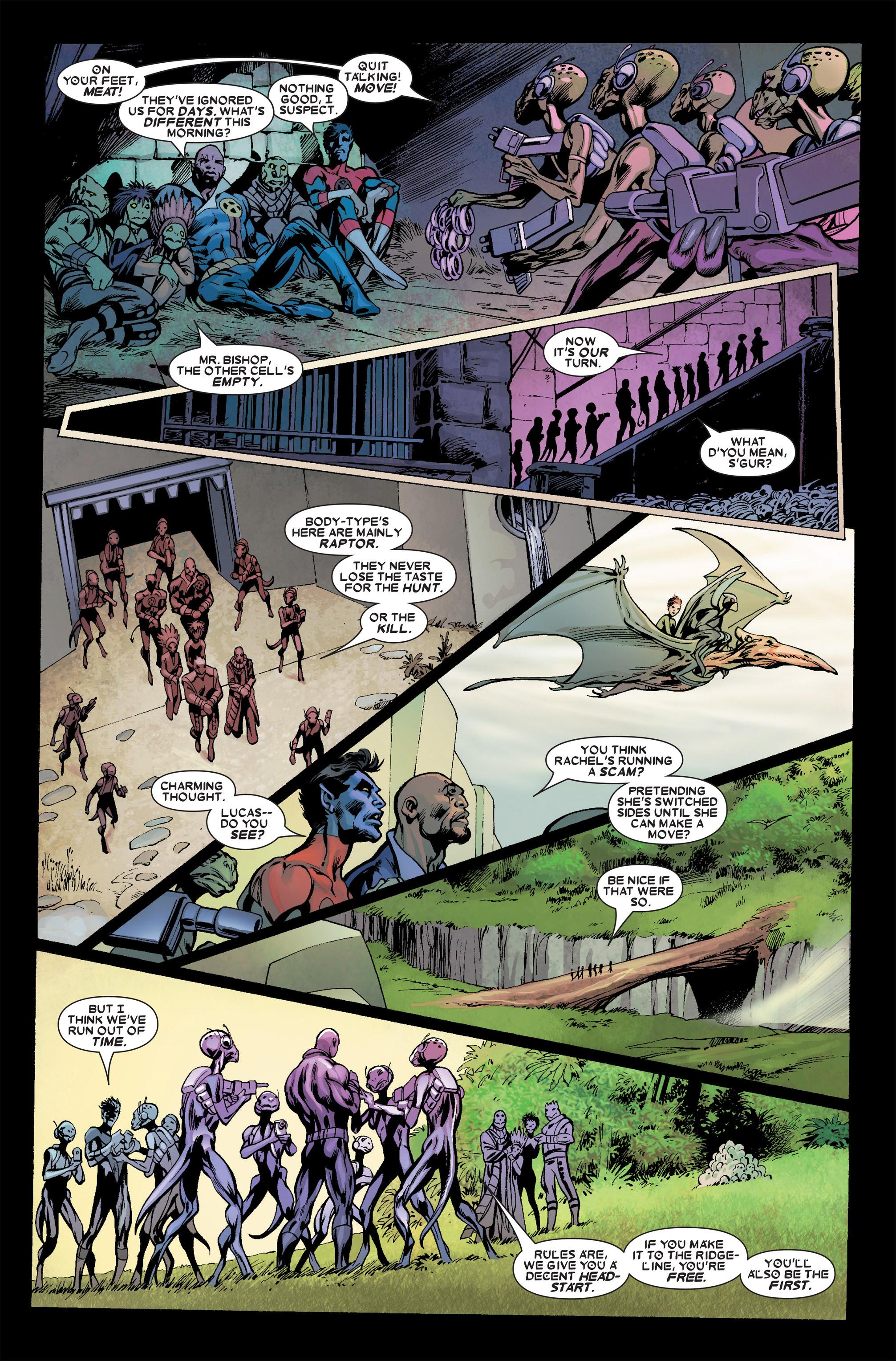 Read online Uncanny X-Men (1963) comic -  Issue #457 - 17