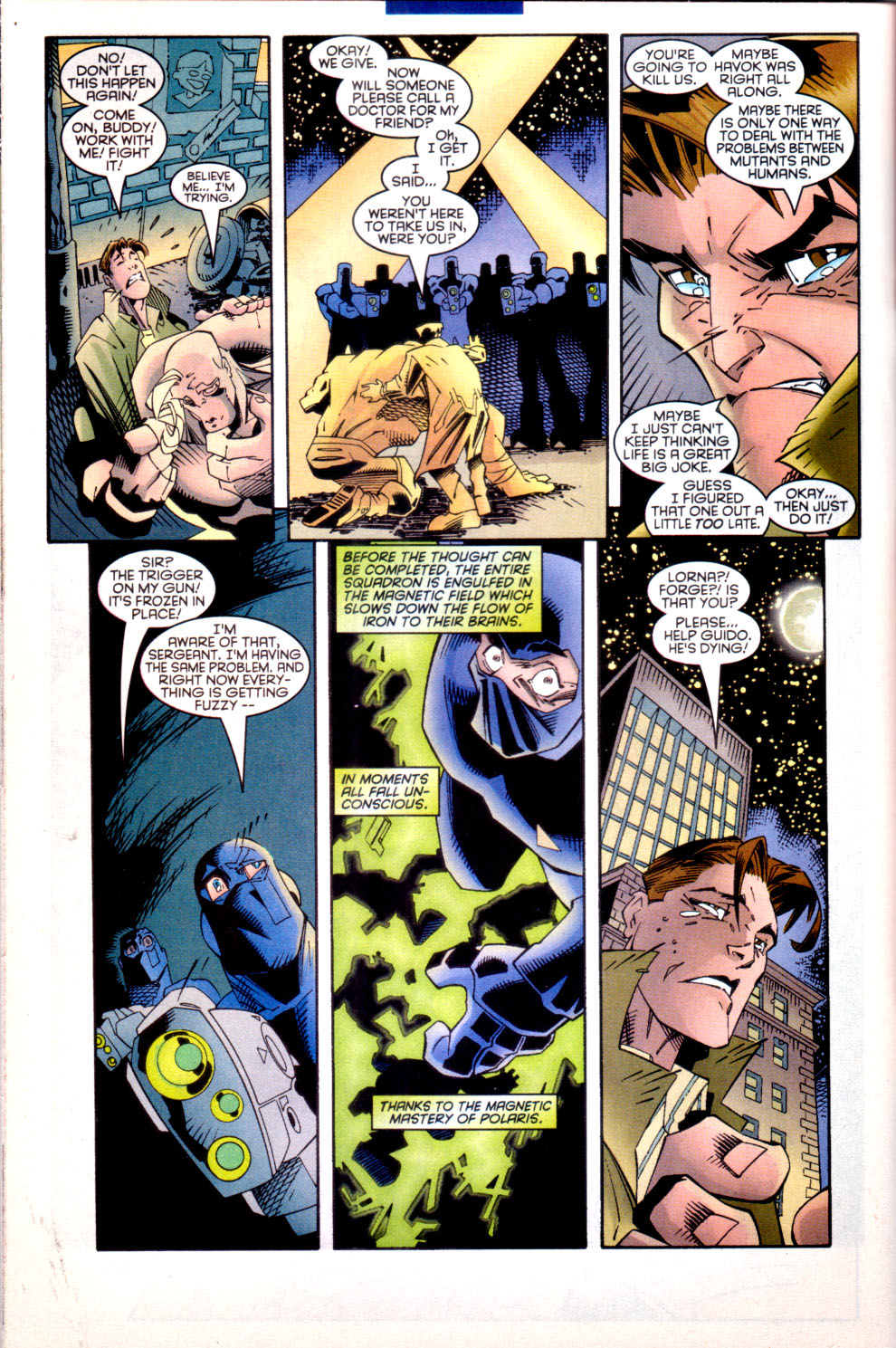 Read online X-Factor (1986) comic -  Issue #135 - 20