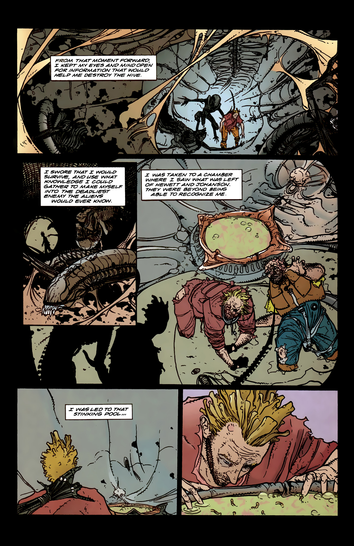 Read online Aliens: Labyrinth comic -  Issue #3 - 19