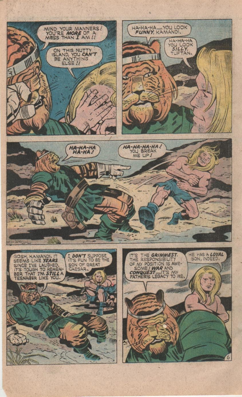 Kamandi, The Last Boy On Earth issue 32 - Page 8