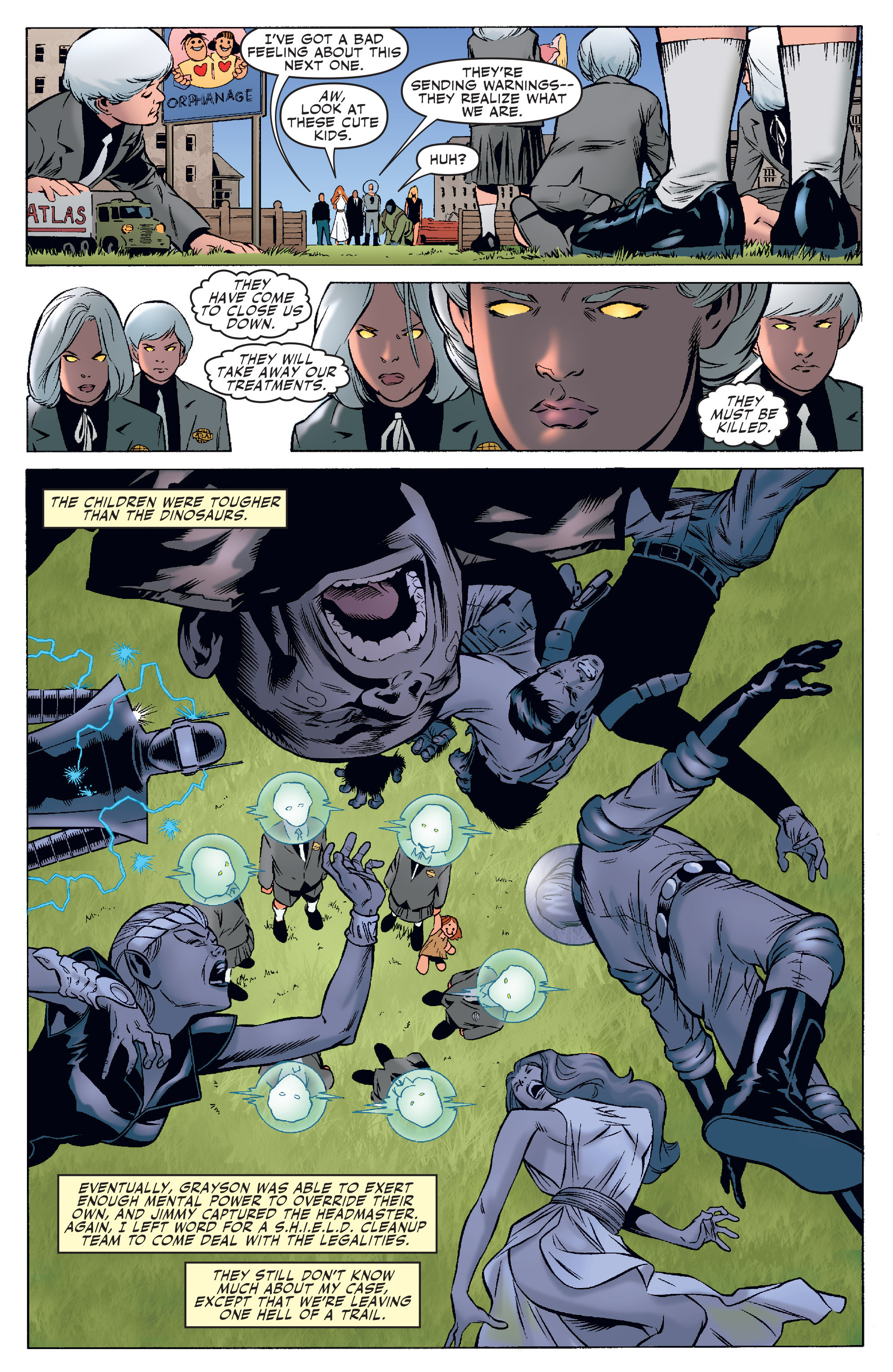 Read online Agents Of Atlas (2006) comic -  Issue #4 - 17