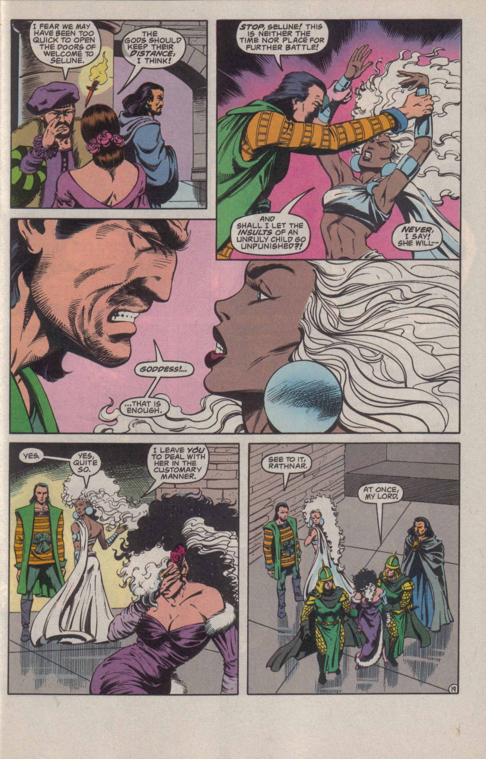 Read online Advanced Dungeons & Dragons comic -  Issue #20 - 20