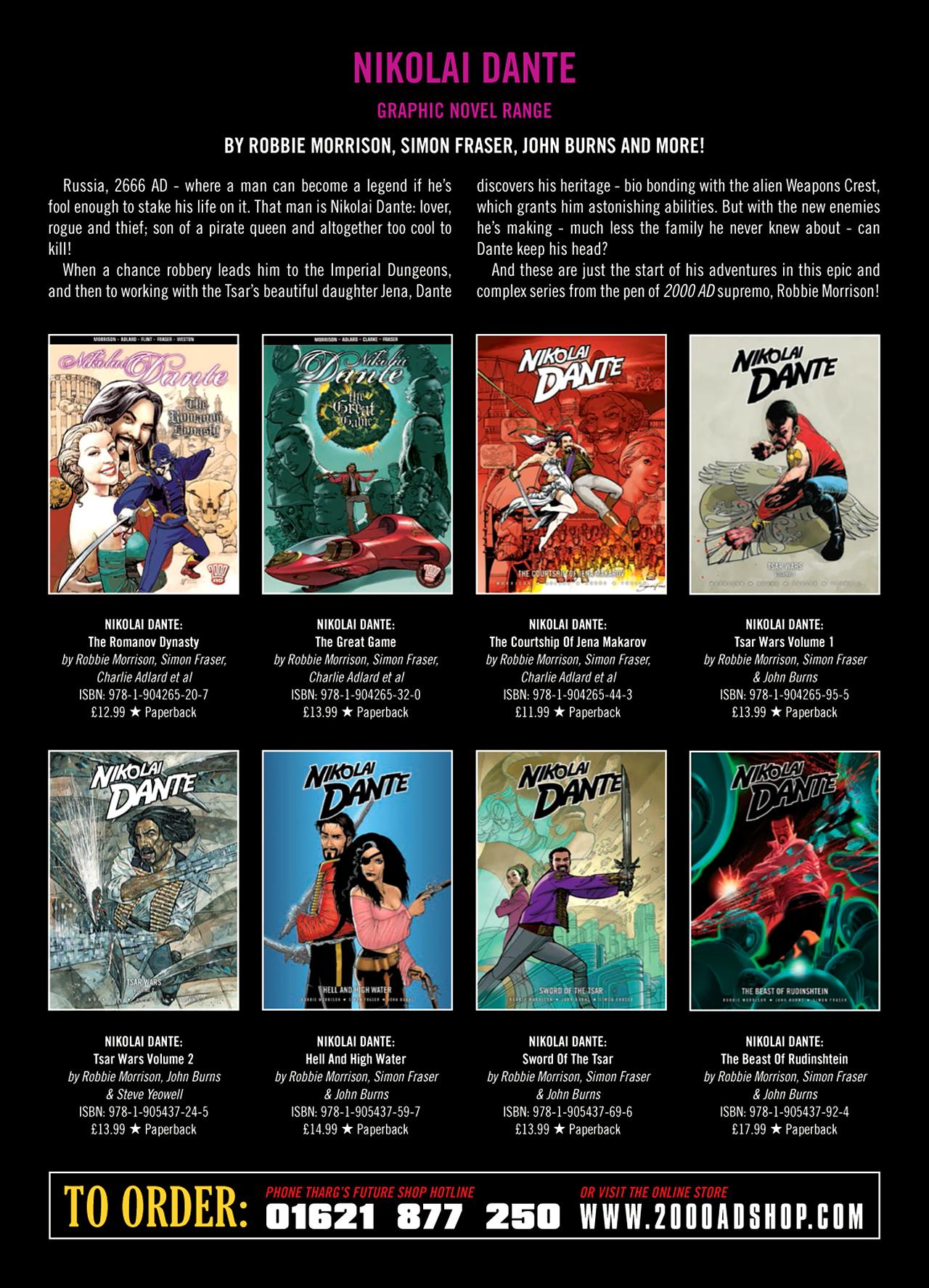 Read online Nikolai Dante comic -  Issue # TPB 9 - 189
