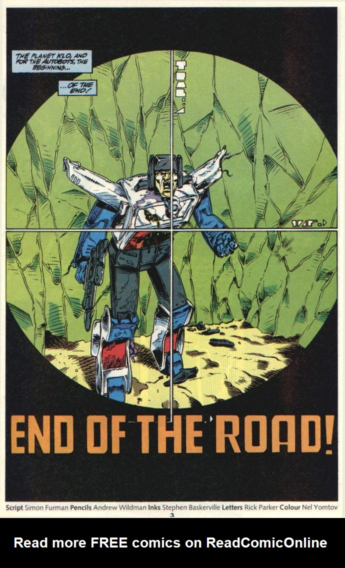 The Transformers (UK) 331 Page 2