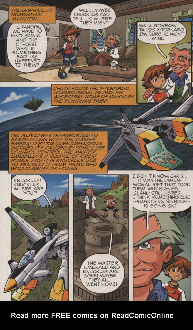 Read online Sonic X comic -  Issue #10 - 32