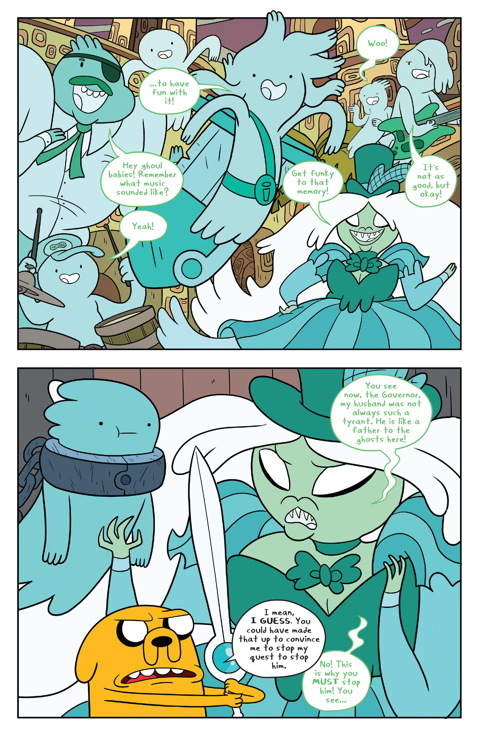 Read online Adventure Time comic -  Issue #53 - 8