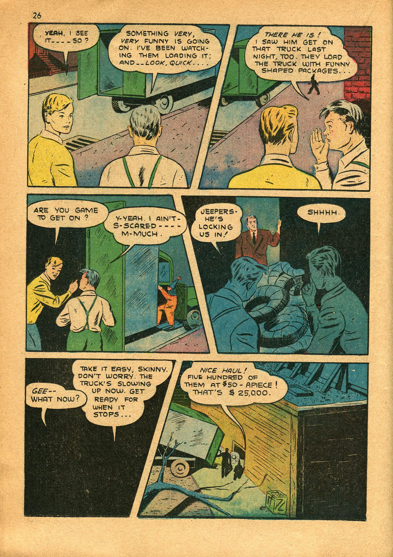 Read online Shadow Comics comic -  Issue #23 - 26
