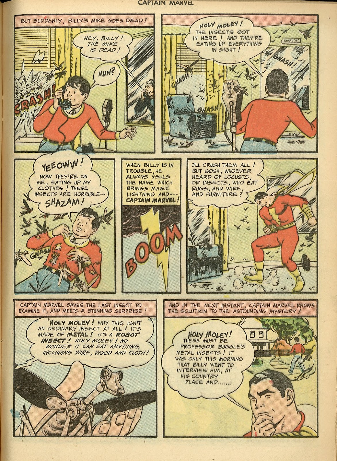 Captain Marvel Adventures issue 70 - Page 17