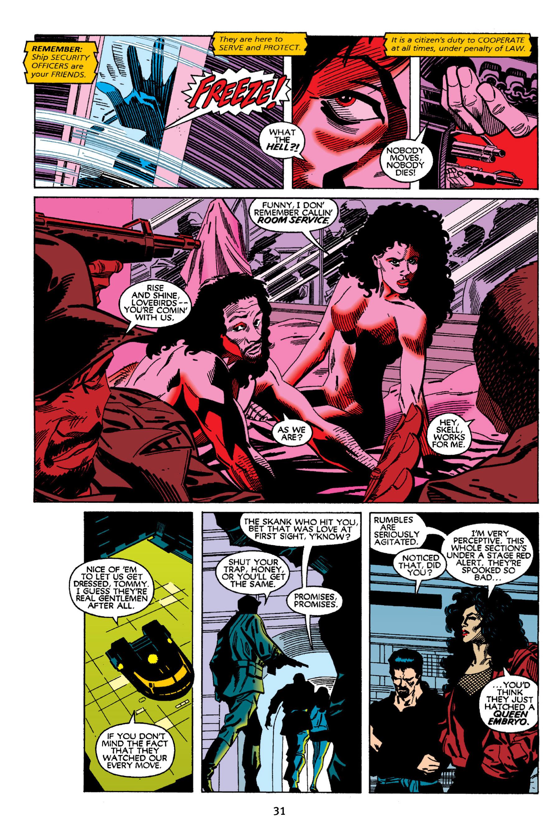 Read online Aliens vs. Predator Omnibus comic -  Issue # _TPB 2 Part 1 - 31