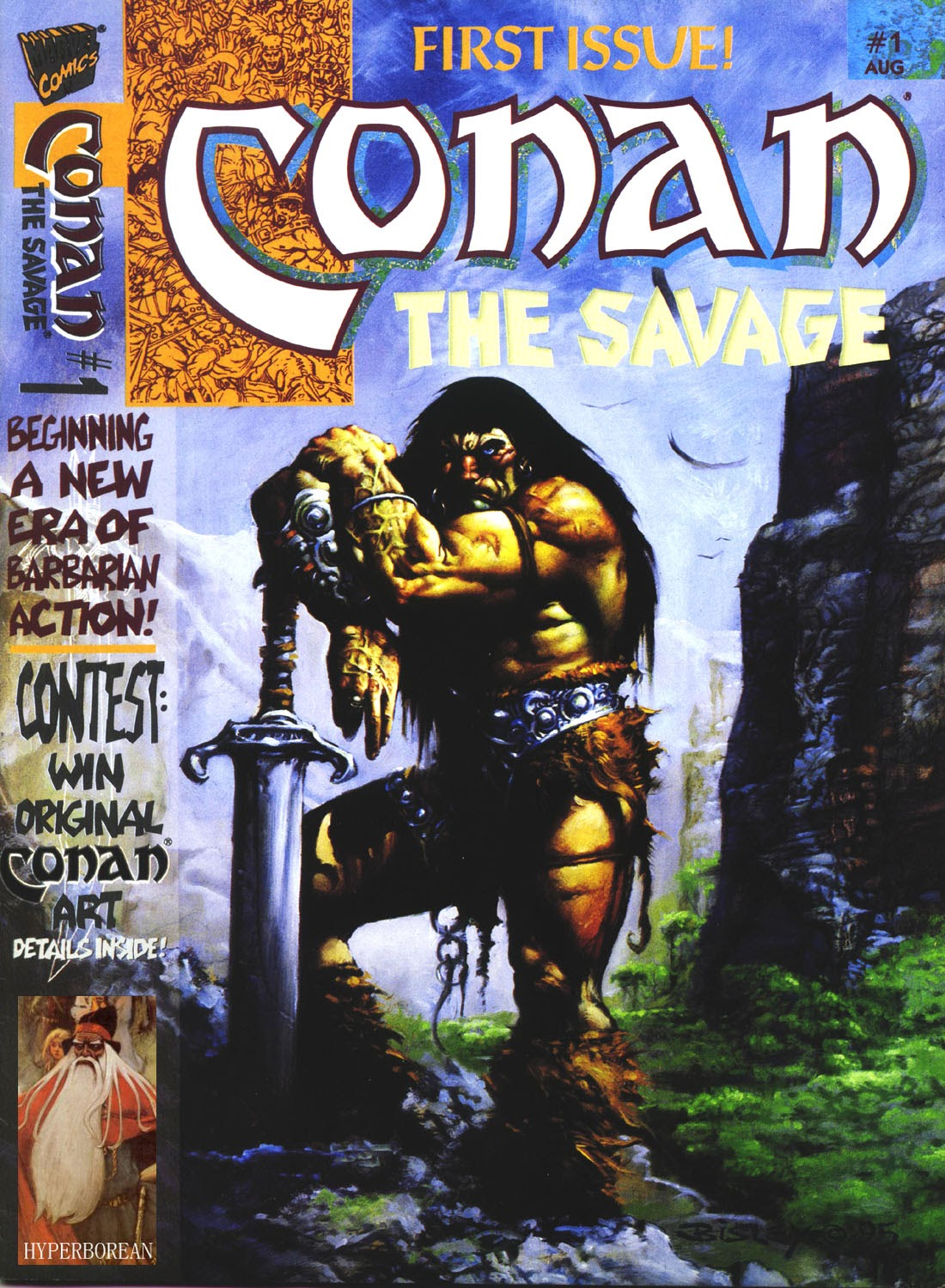 Conan the Savage 1 Page 1