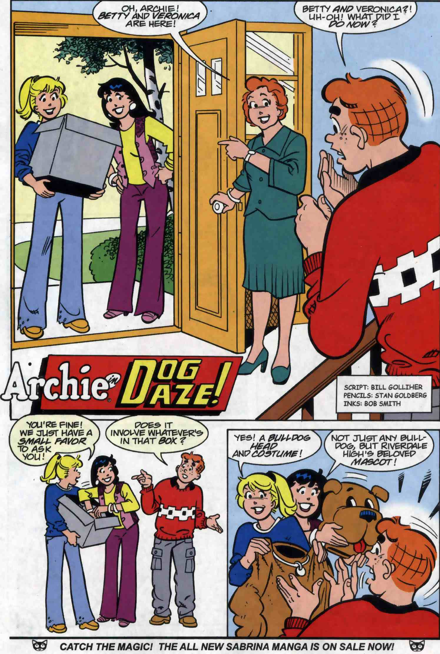 Read online Archie (1960) comic -  Issue #556 - 21