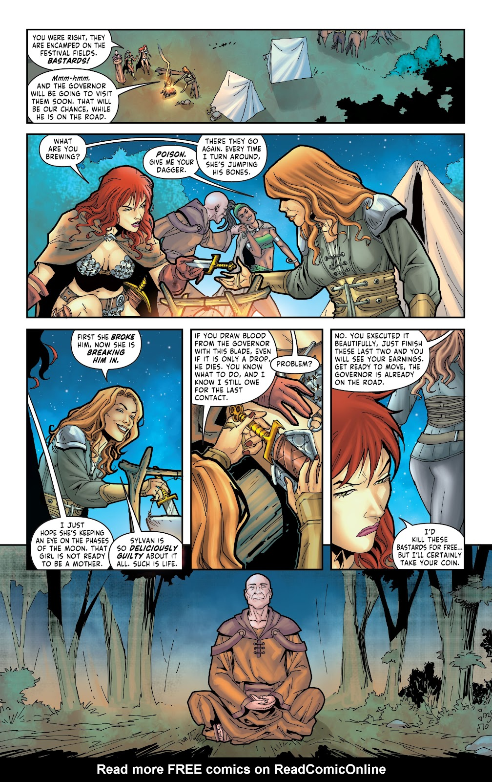 Red Sonja: The Price of Blood issue 3 - Page 8