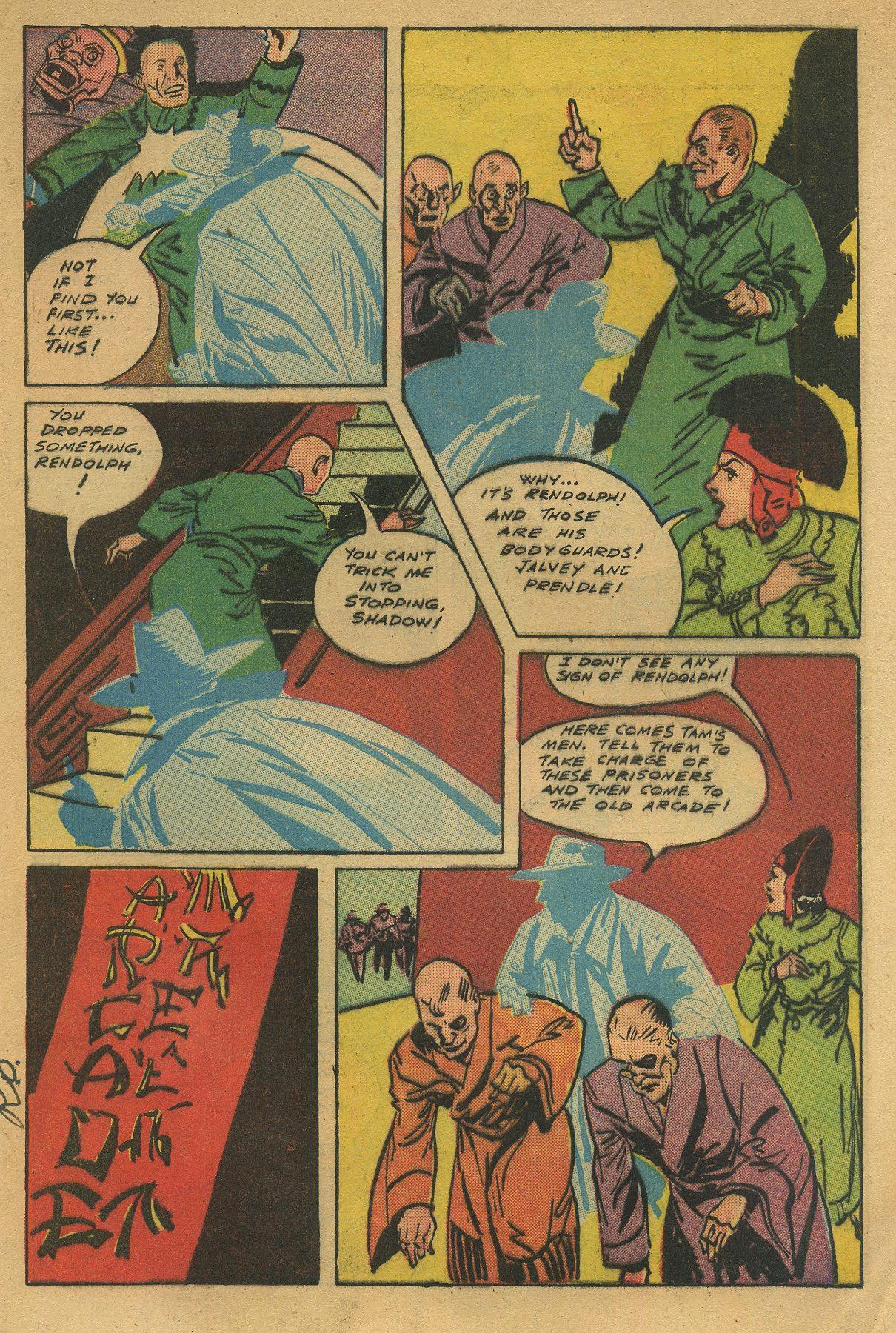 Read online Shadow Comics comic -  Issue #49 - 13