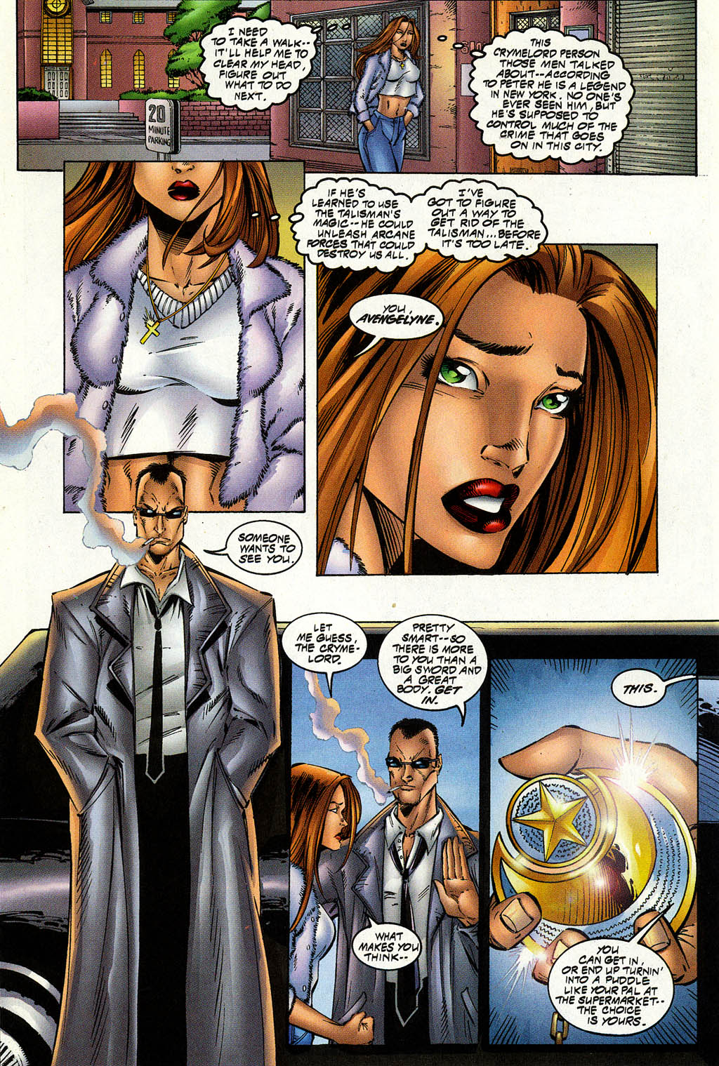 Read online Avengelyne (1996) comic -  Issue #8 - 12
