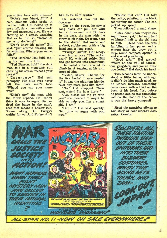 Read online Sensation (Mystery) Comics comic -  Issue #8 - 47