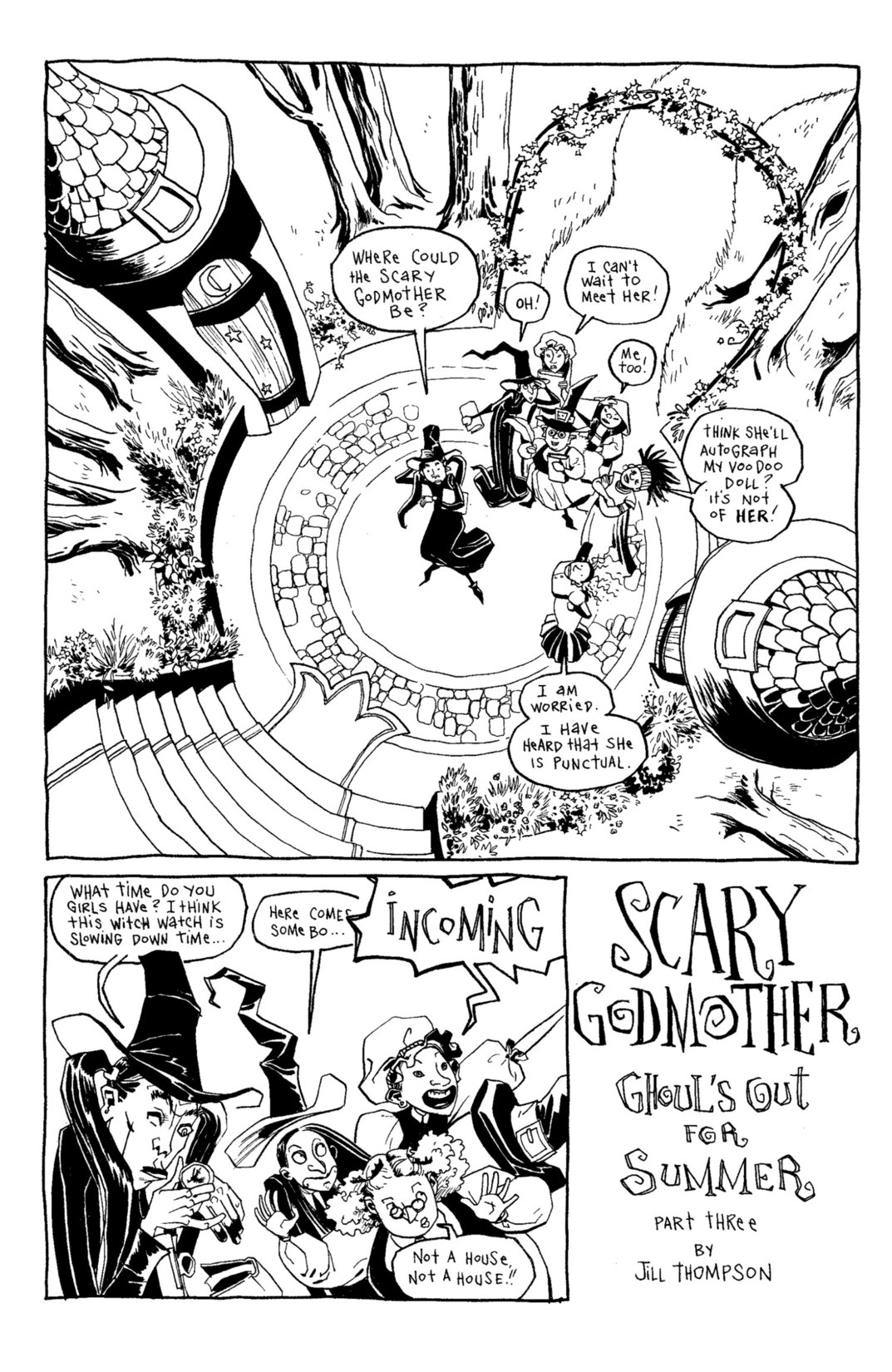 Read online Scary Godmother Comic Book Stories comic -  Issue # TPB - 182