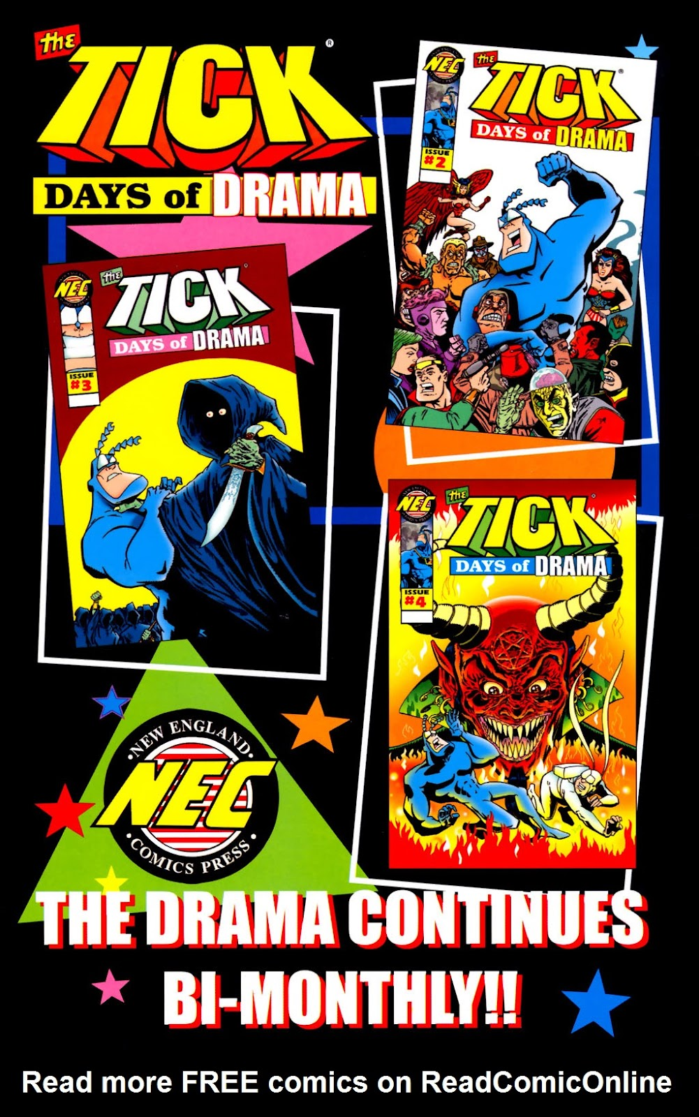 Read online The Tick: Days of Drama comic -  Issue #1 - 39