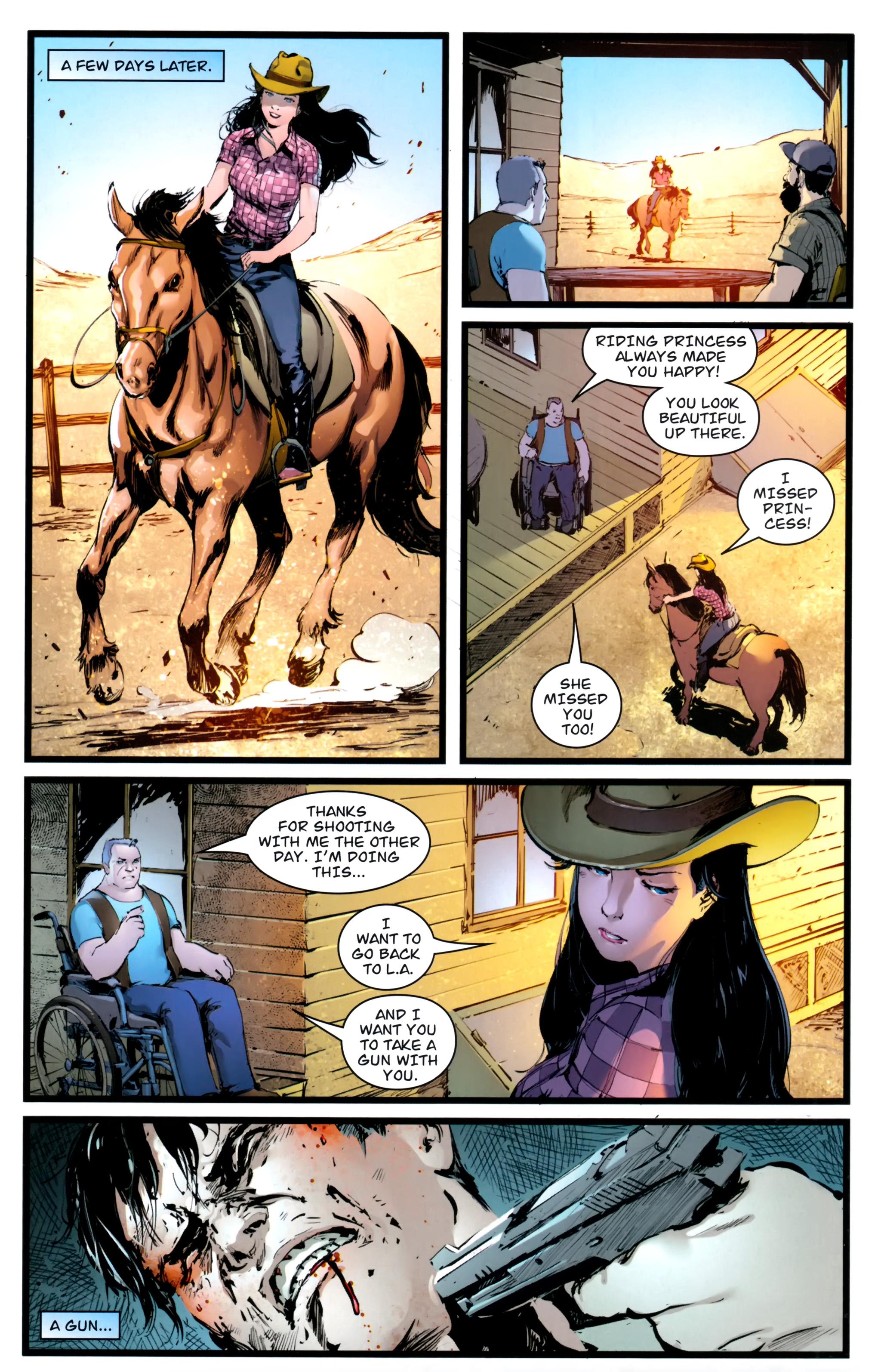 Read online Astria comic -  Issue #1 - 22