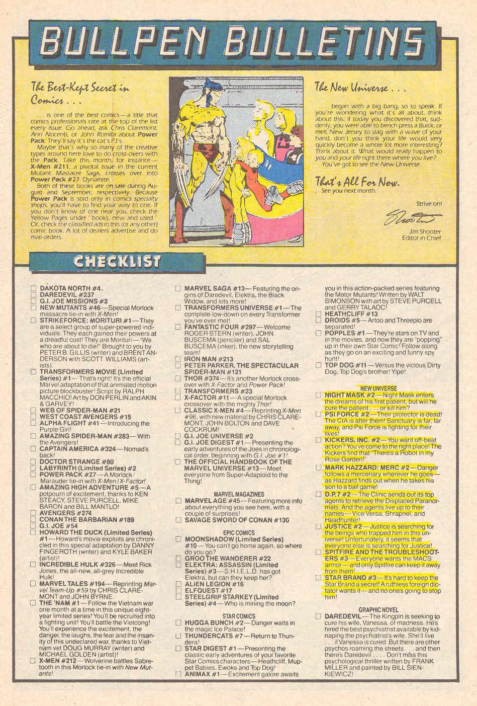 Read online Alpha Flight (1983) comic -  Issue #41 - 24