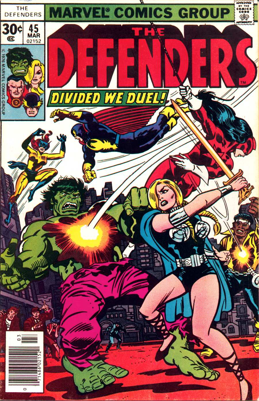 The Defenders (1972) 45 Page 1