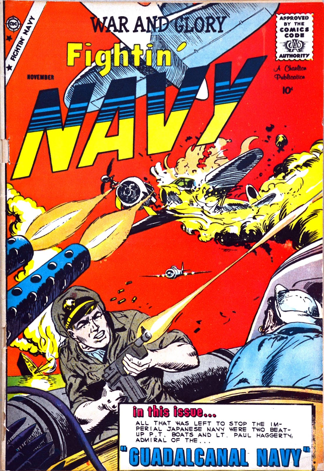 Read online Fightin' Navy comic -  Issue #89 - 1