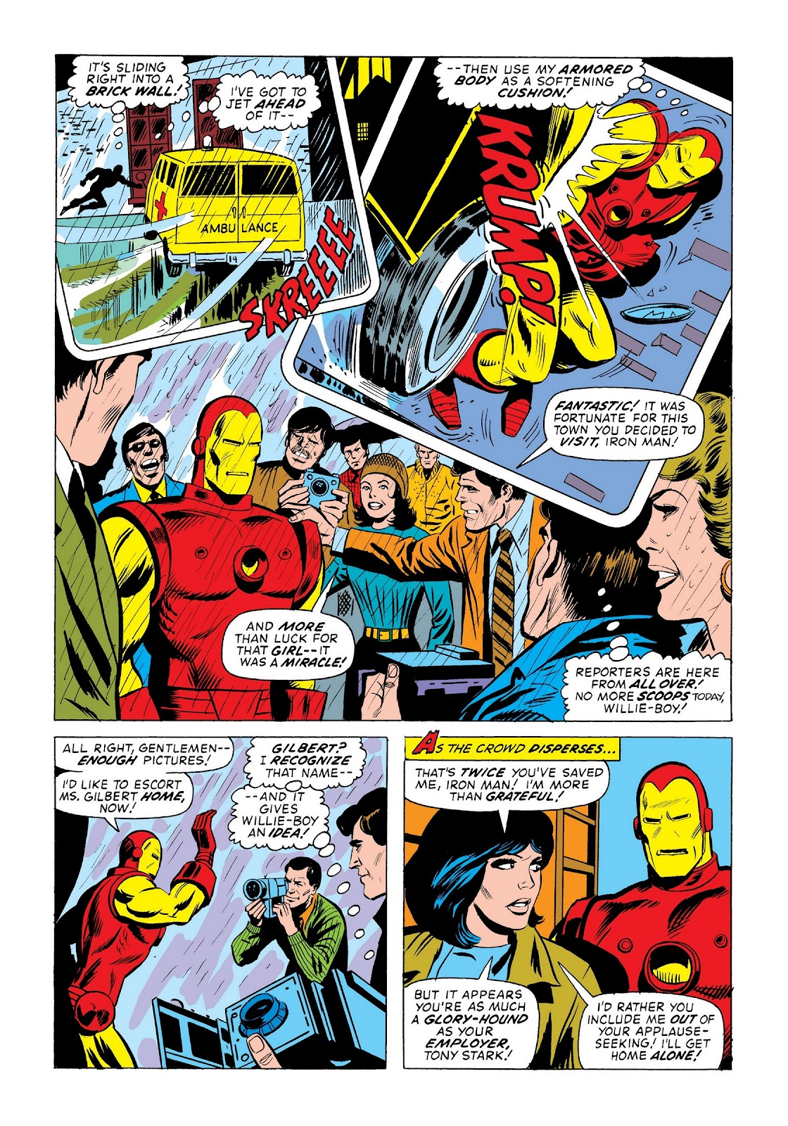Read online Marvel Masterworks: The Invincible Iron Man comic -  Issue # TPB 9 (Part 2) - 97