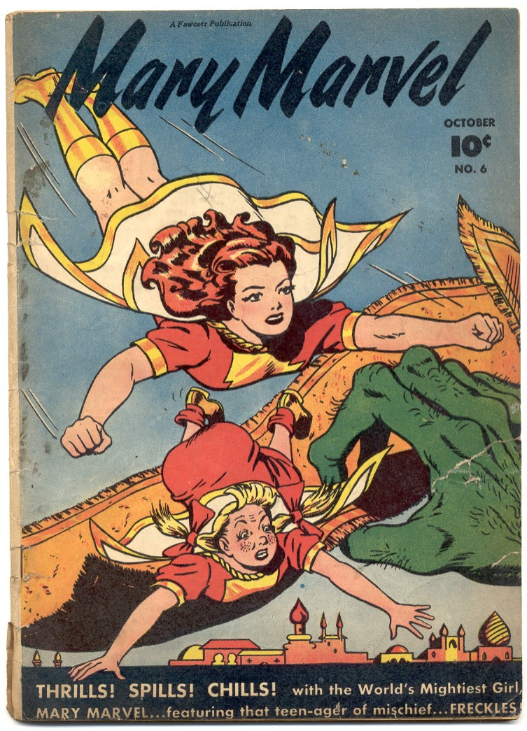 Mary Marvel 6 Page 1