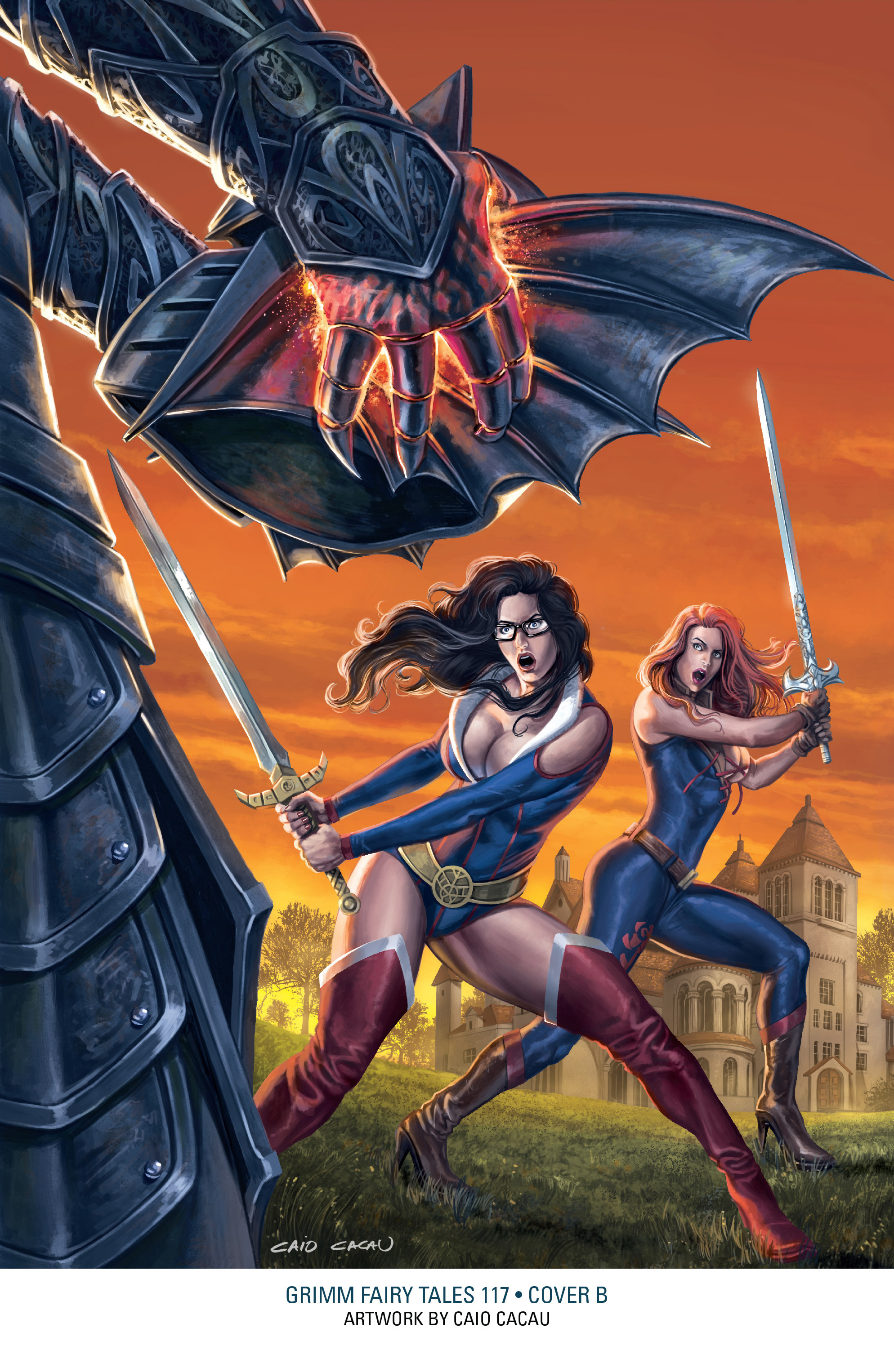 Read online Grimm Fairy Tales: Arcane Acre comic -  Issue # TPB 3 - 156