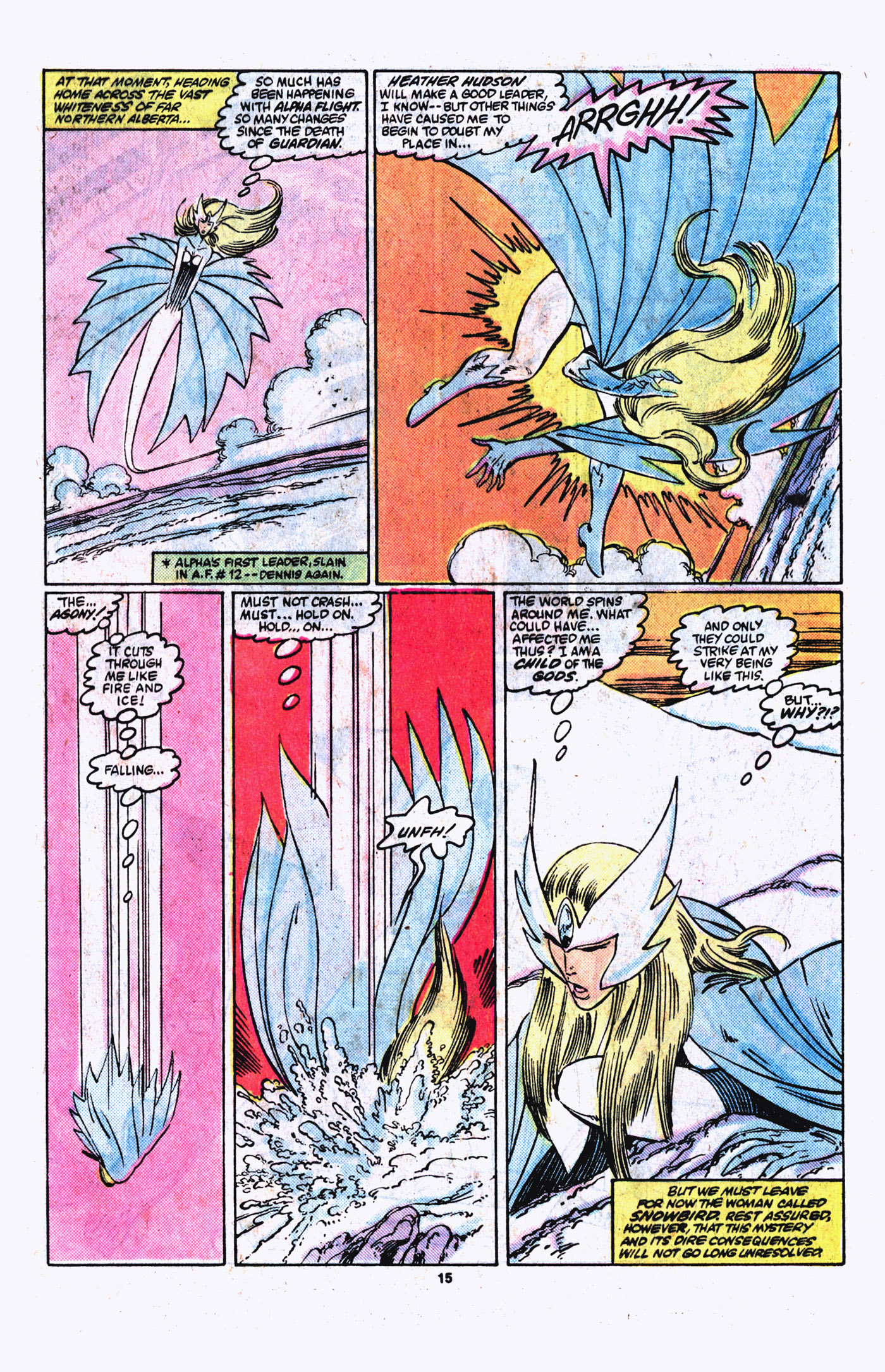 Read online Alpha Flight (1983) comic -  Issue #21 - 16