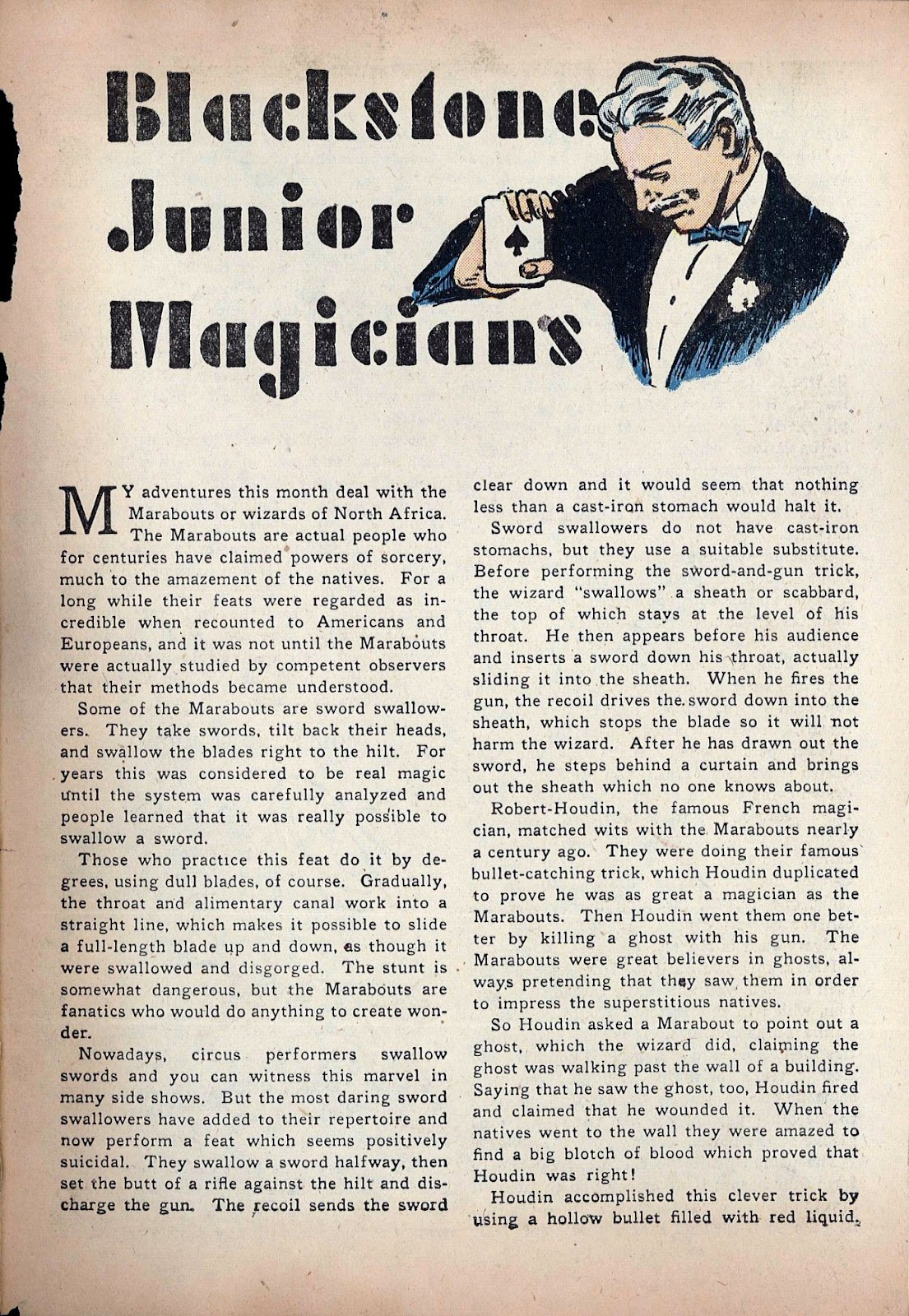 Read online Super-Magician Comics comic -  Issue #20 - 55