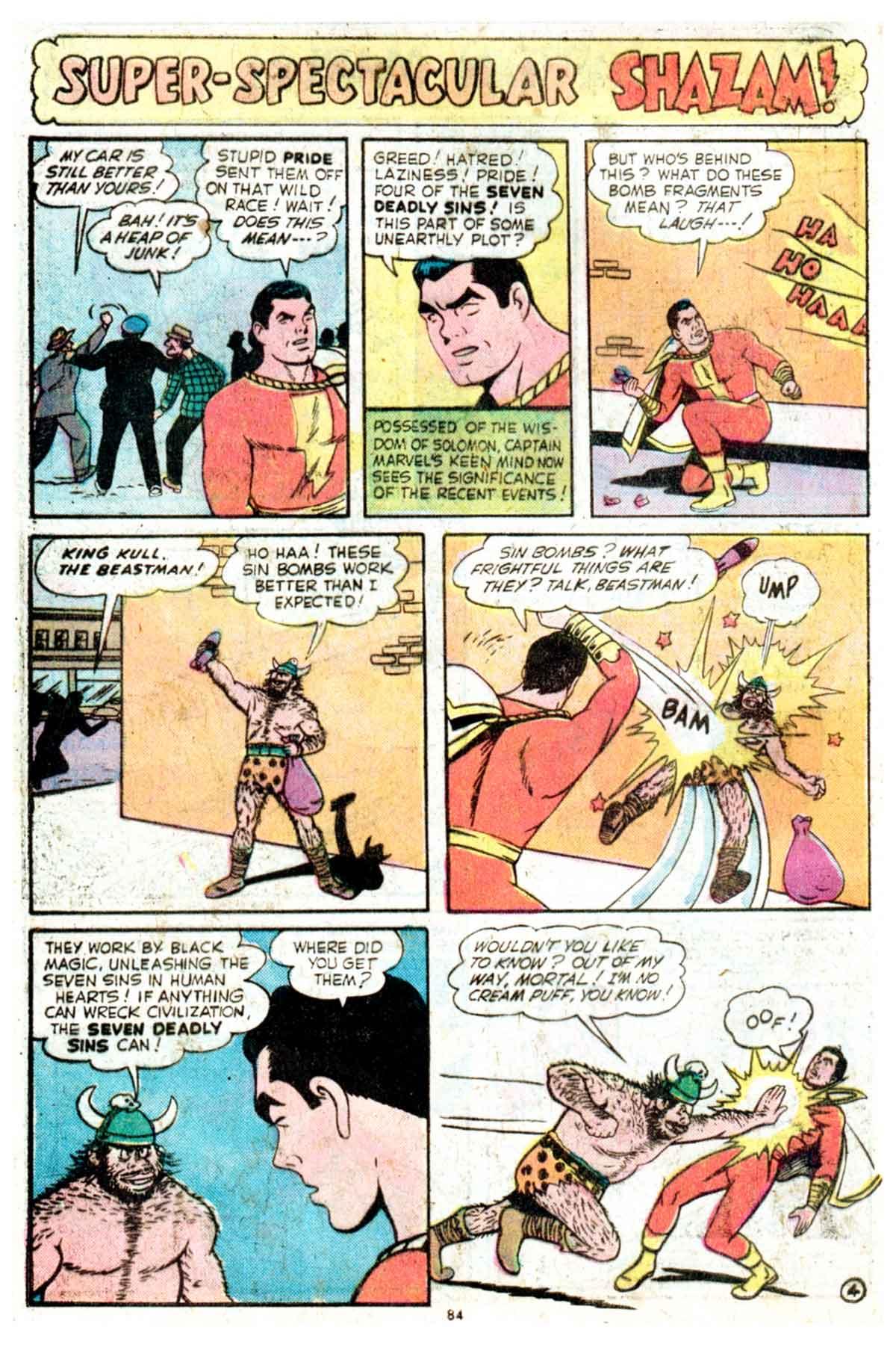 Read online Shazam! (1973) comic -  Issue #16 - 84