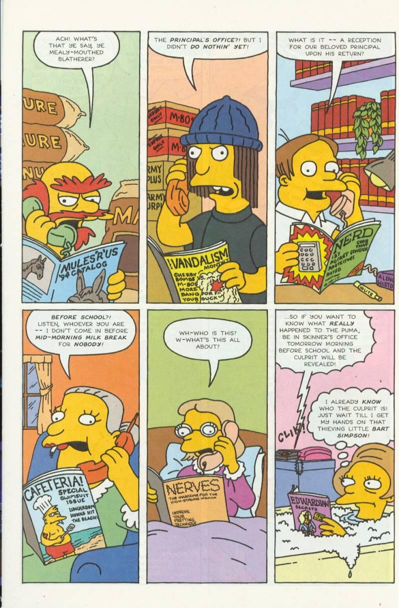 Read online Simpsons Comics comic -  Issue #3 - 17