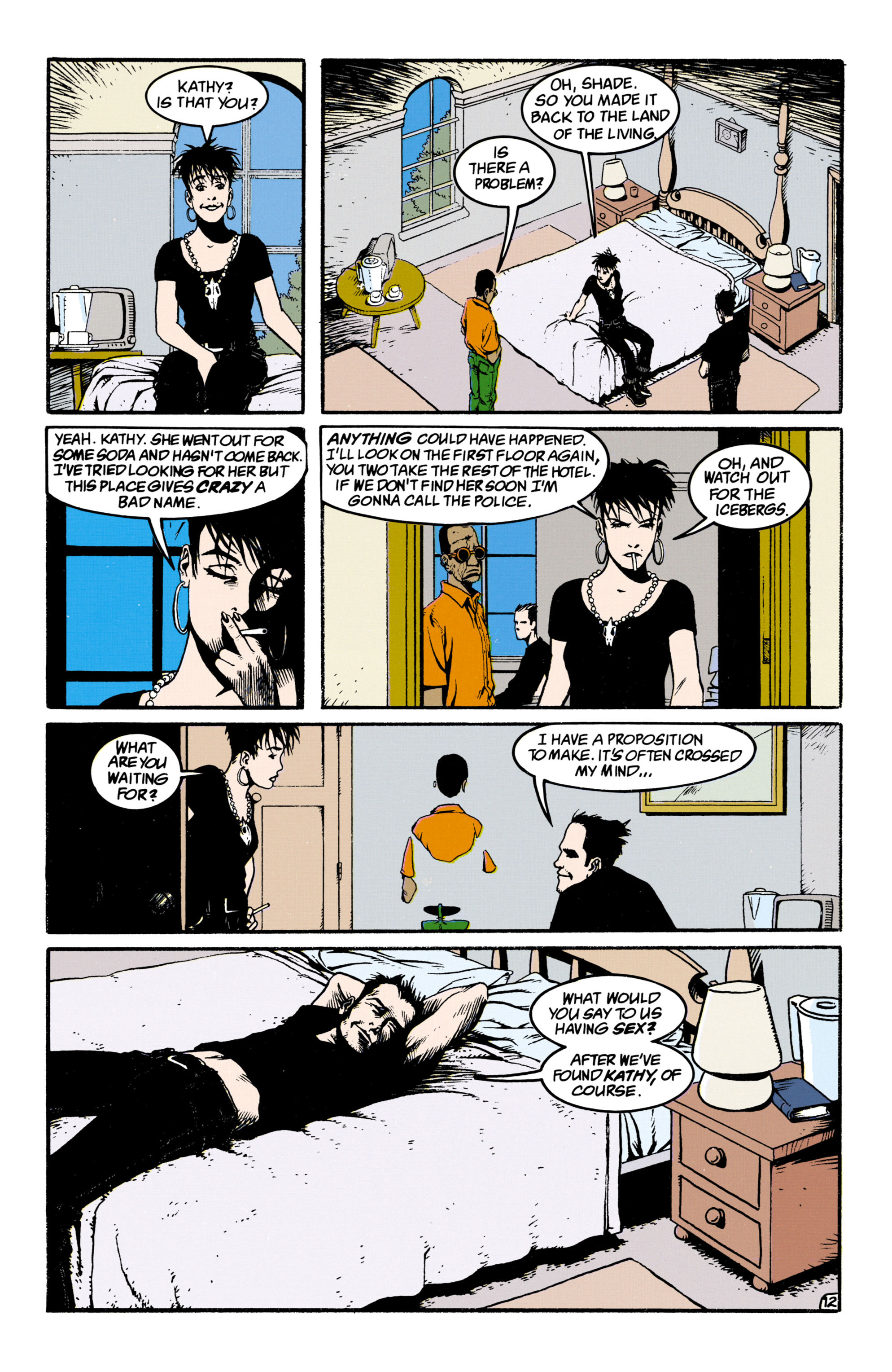 Read online Shade, the Changing Man comic -  Issue #34 - 12