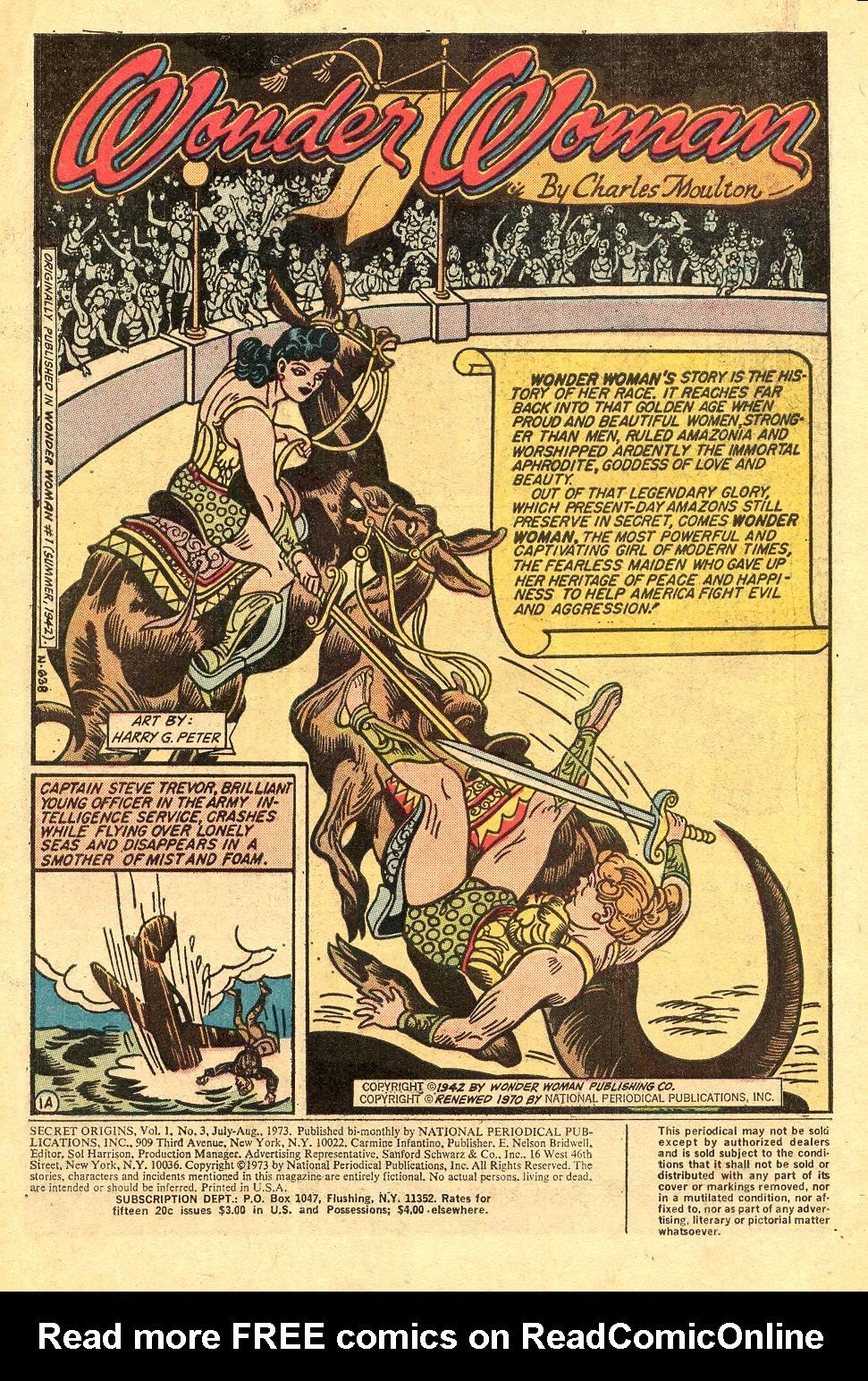Read online Secret Origins (1973) comic -  Issue #3 - 3