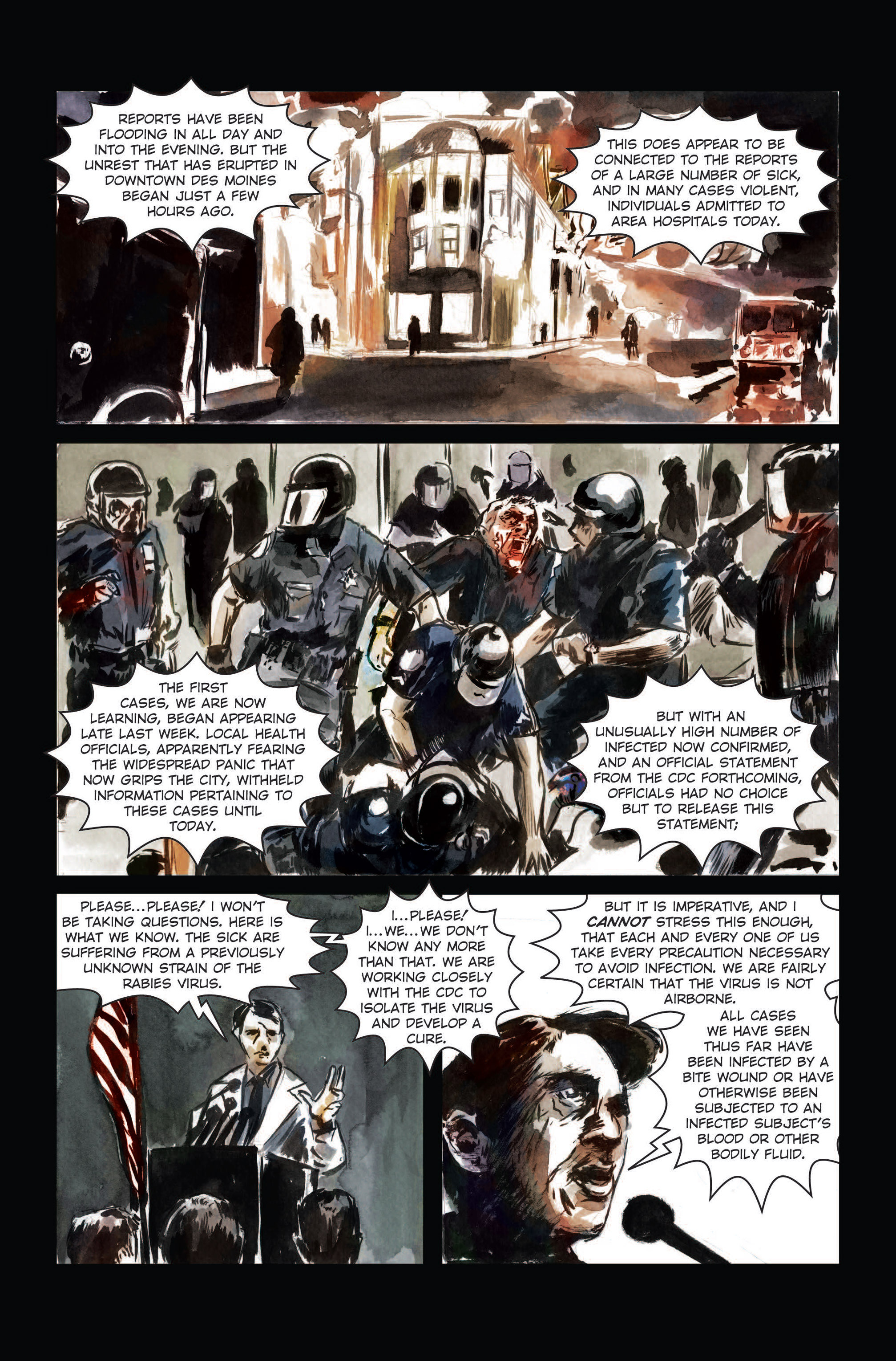 Read online The Final Plague comic -  Issue #3 - 16