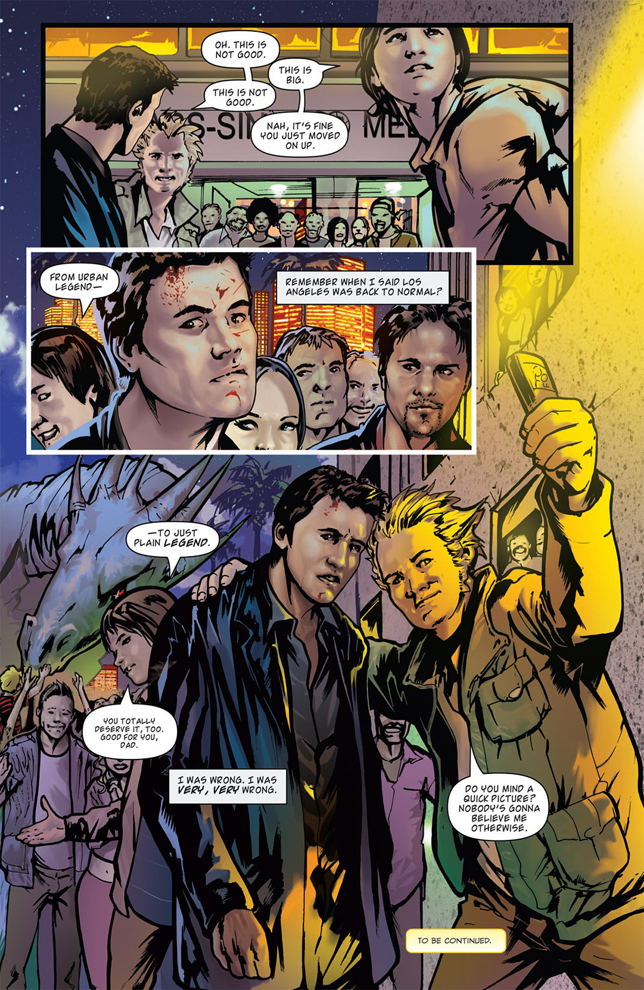 Read online Angel: After The Fall comic -  Issue #16 - 26