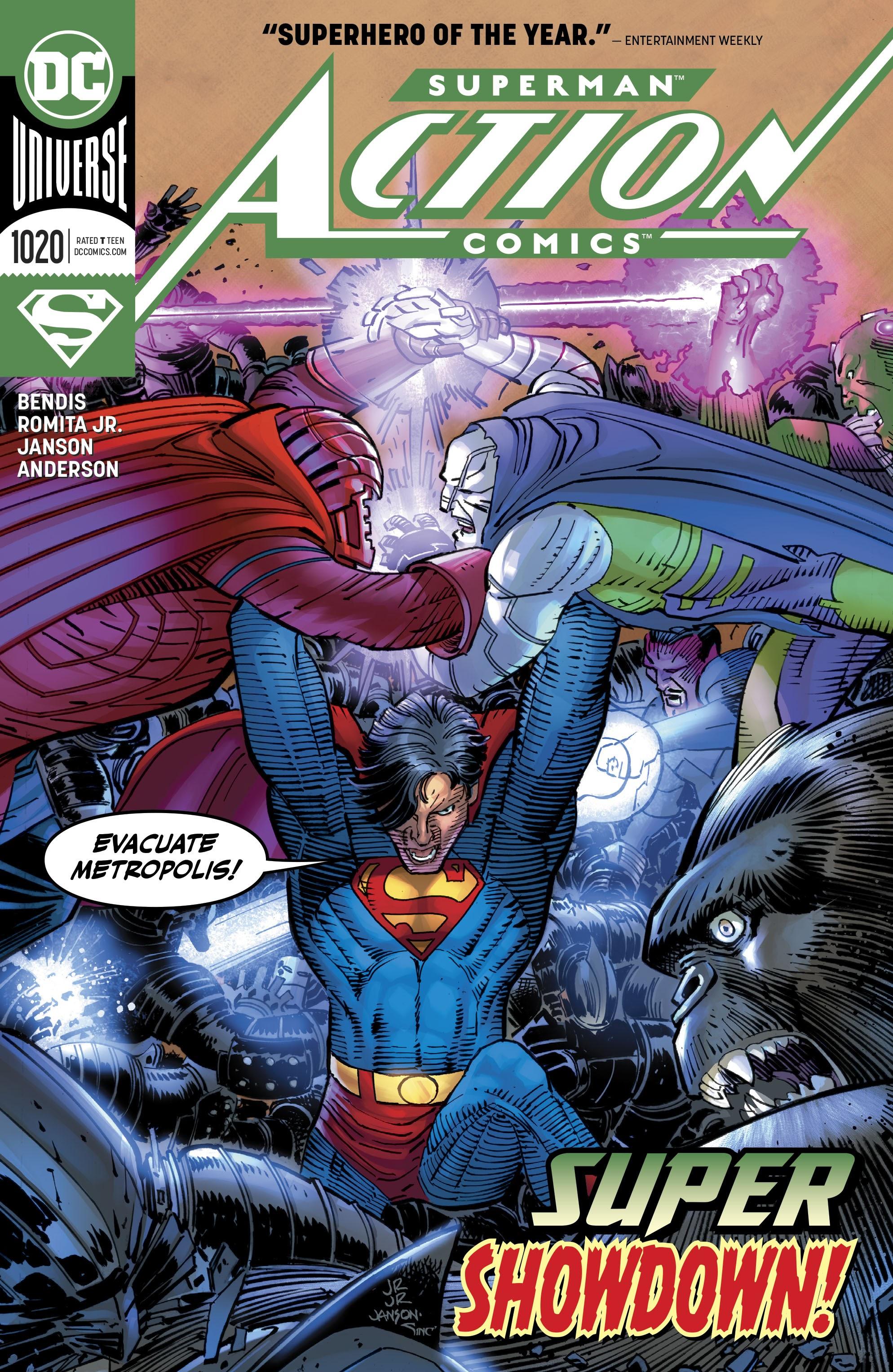 Action Comics (2016) 1020 Page 1