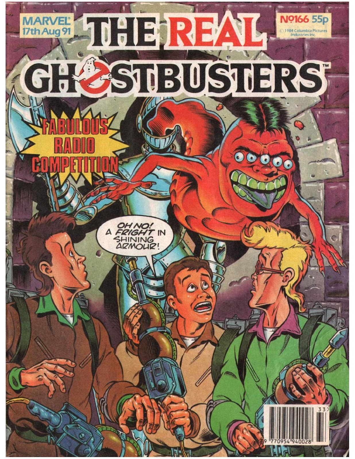 The Real Ghostbusters 166 Page 1